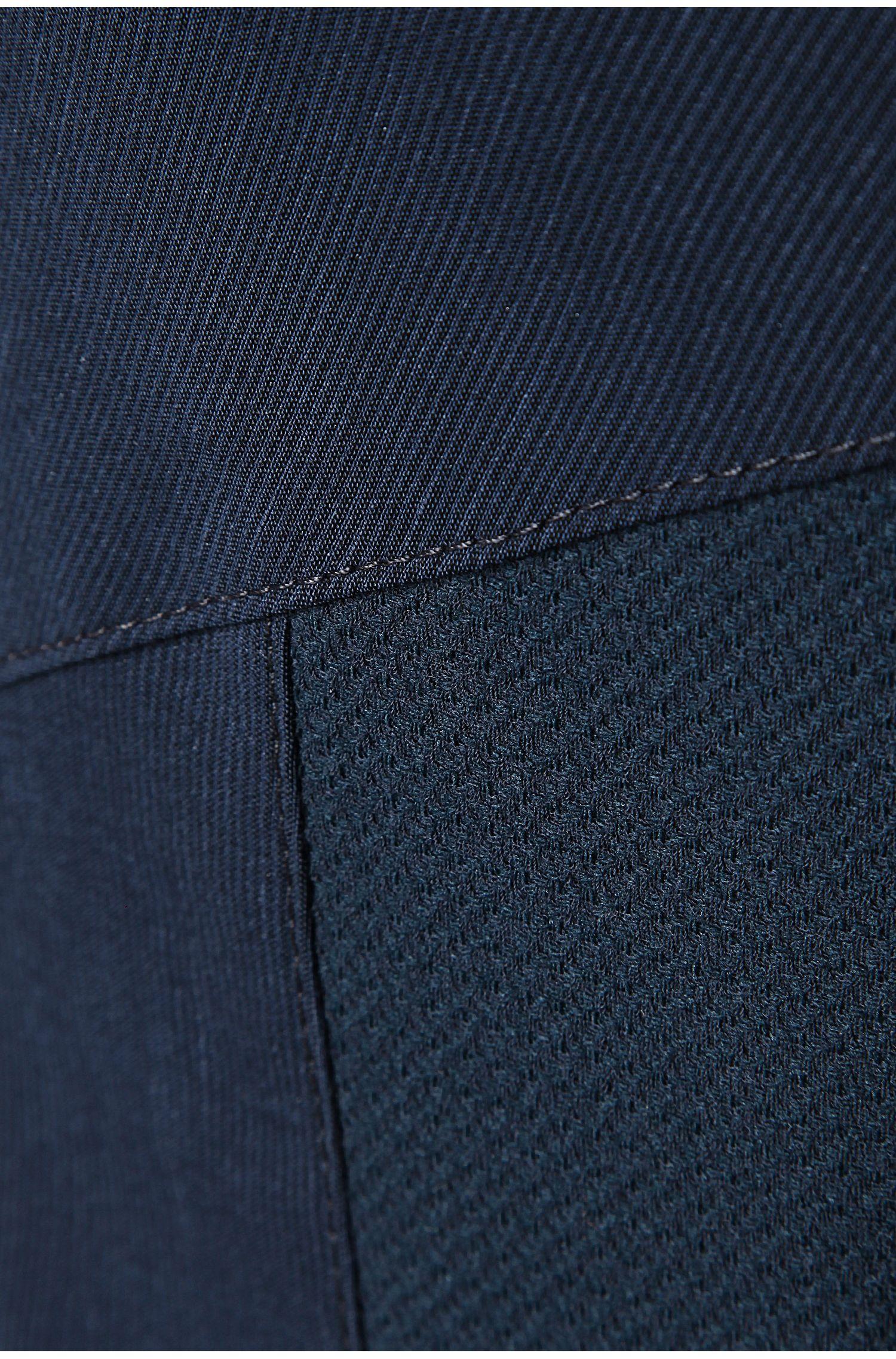 Robe sans manches en viscose mélangée, avec du lin: «Ariga»