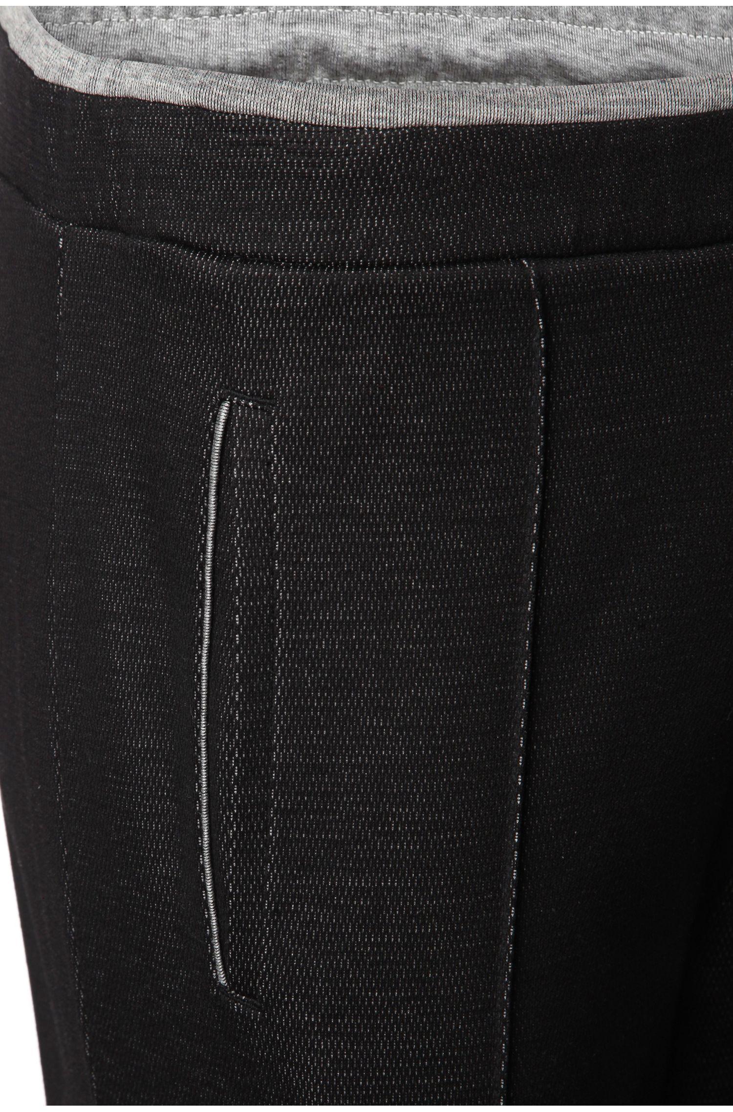 Jogginghose aus texturierter Baumwolle: ´Hajus`