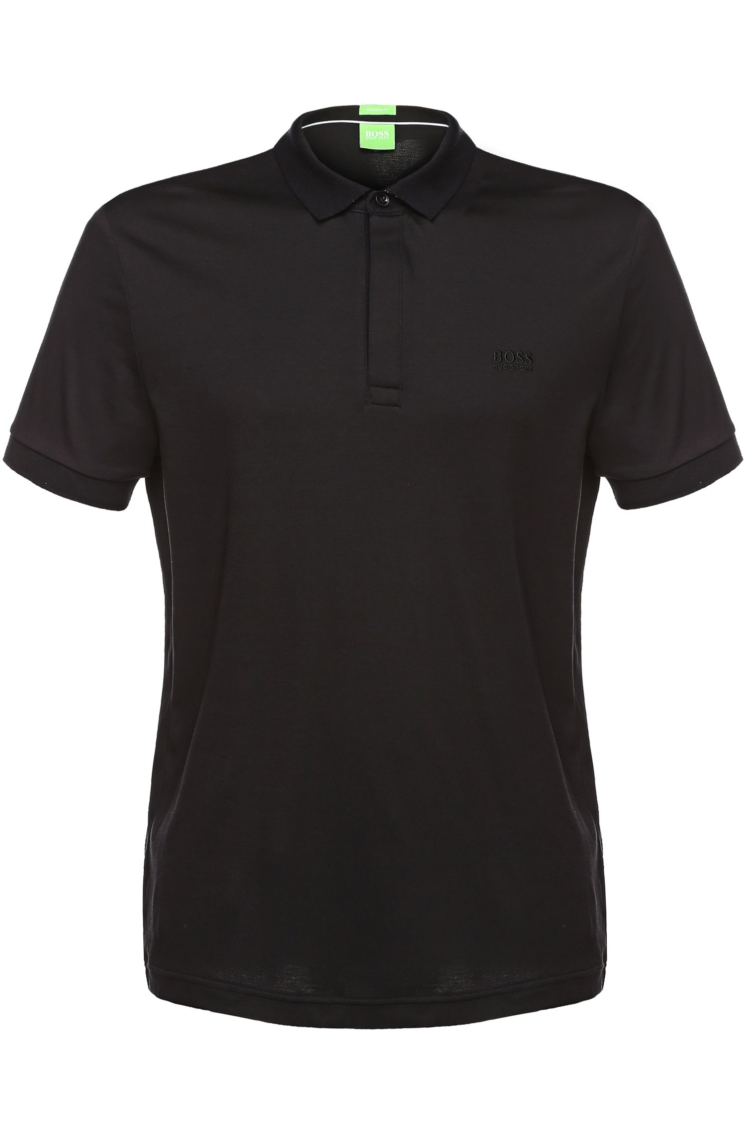 Regular-fit polo van jersey: 'C-Rapino'