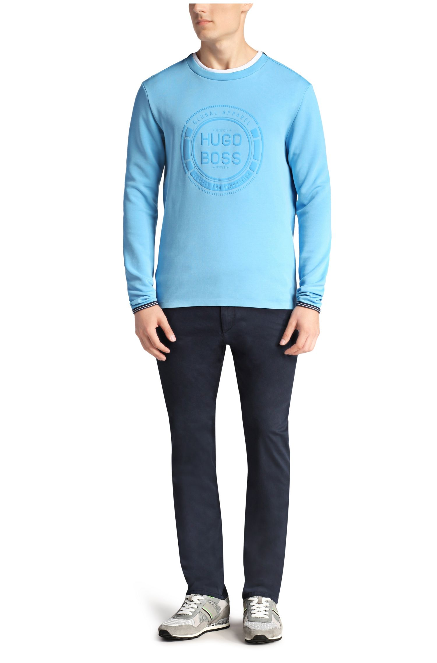 Sweater aus Baumwoll-Gemisch: ´Seacho`