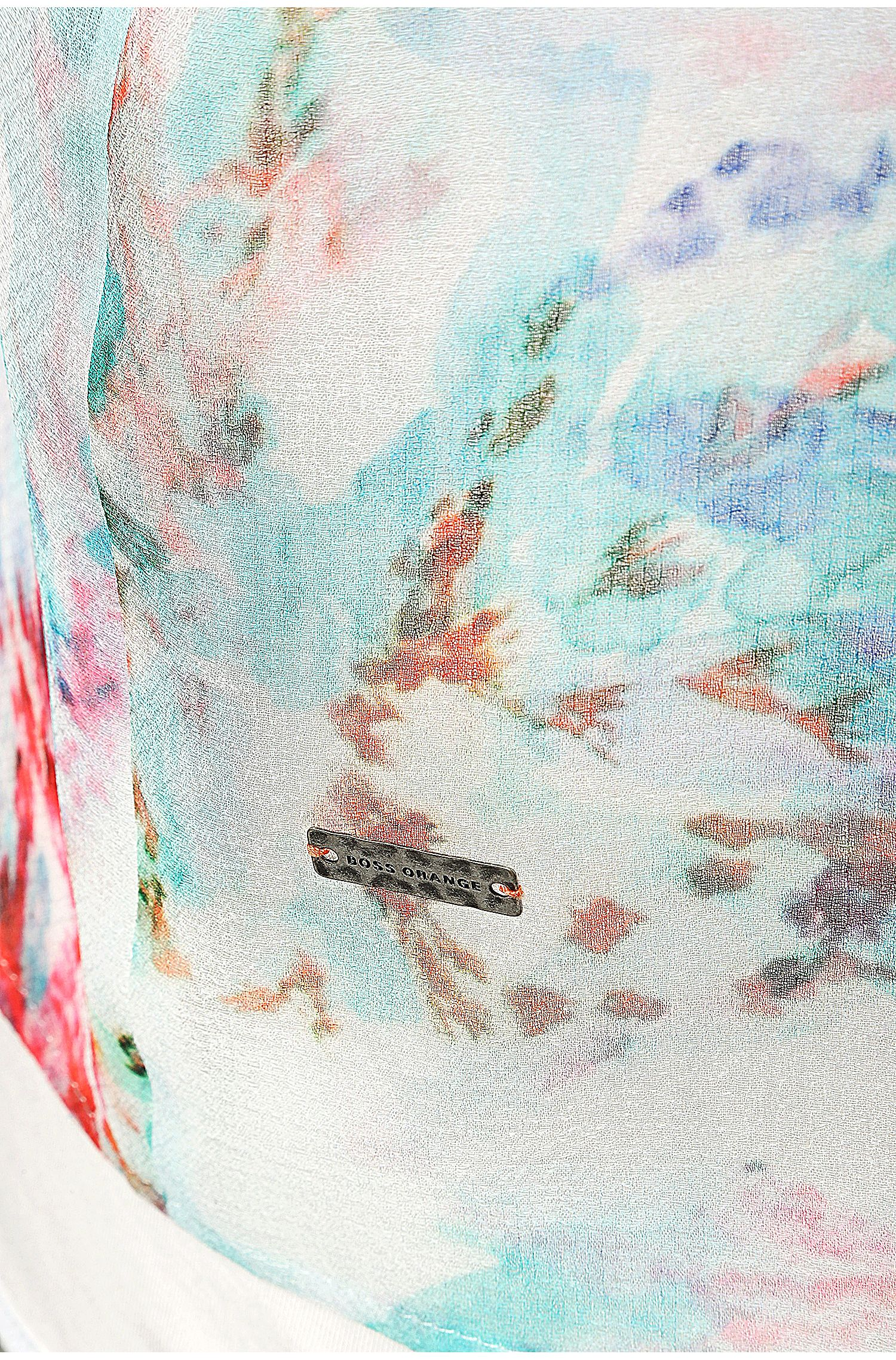 Zartes Print-Shirt: ´Kaflowy`