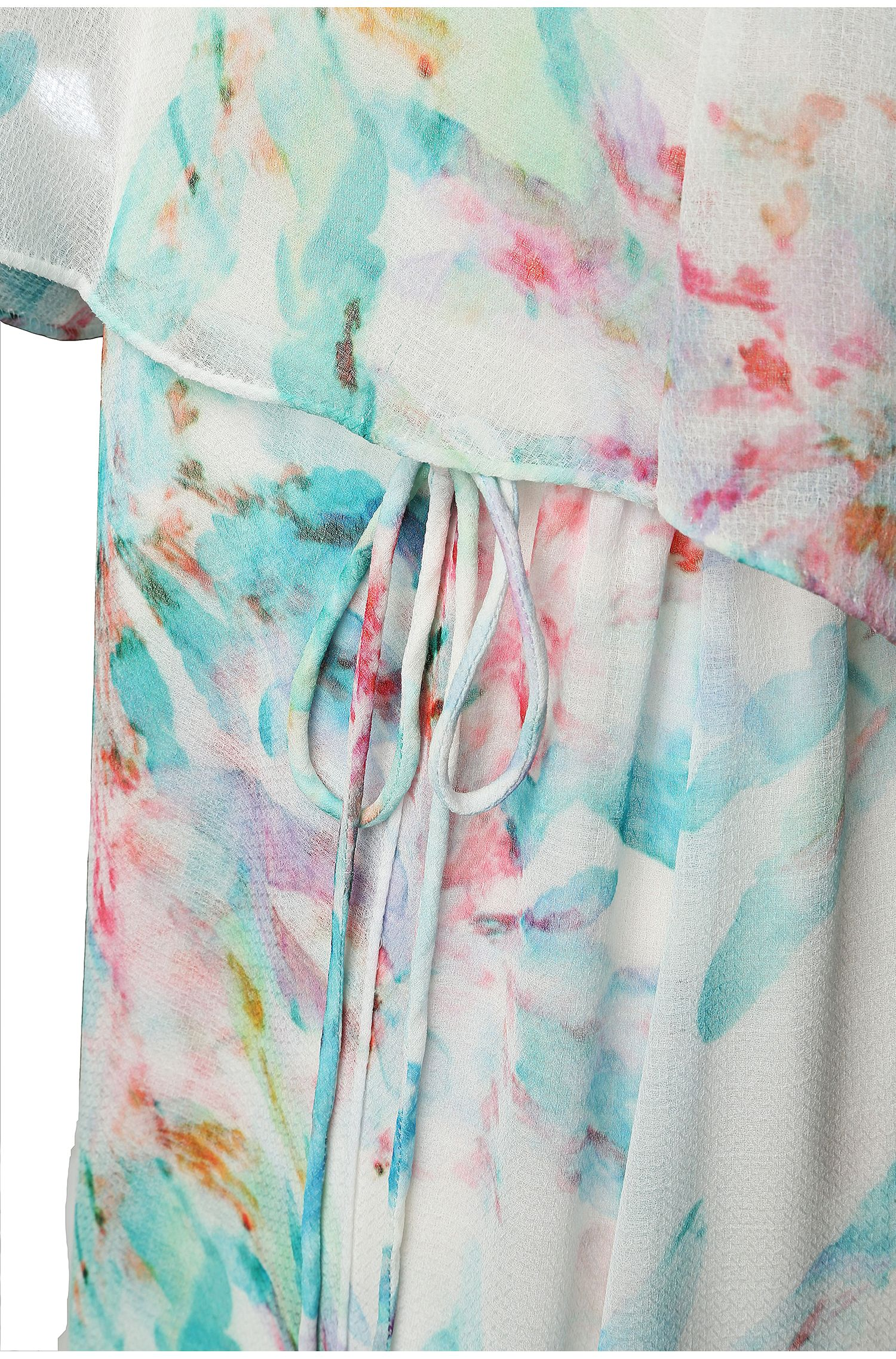 Robe maxi à imprimé fleuri: «Aglamy»