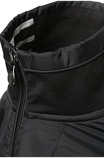Zipperjacke aus Baumwoll-Mix: ´C-Pizzoli`, Schwarz