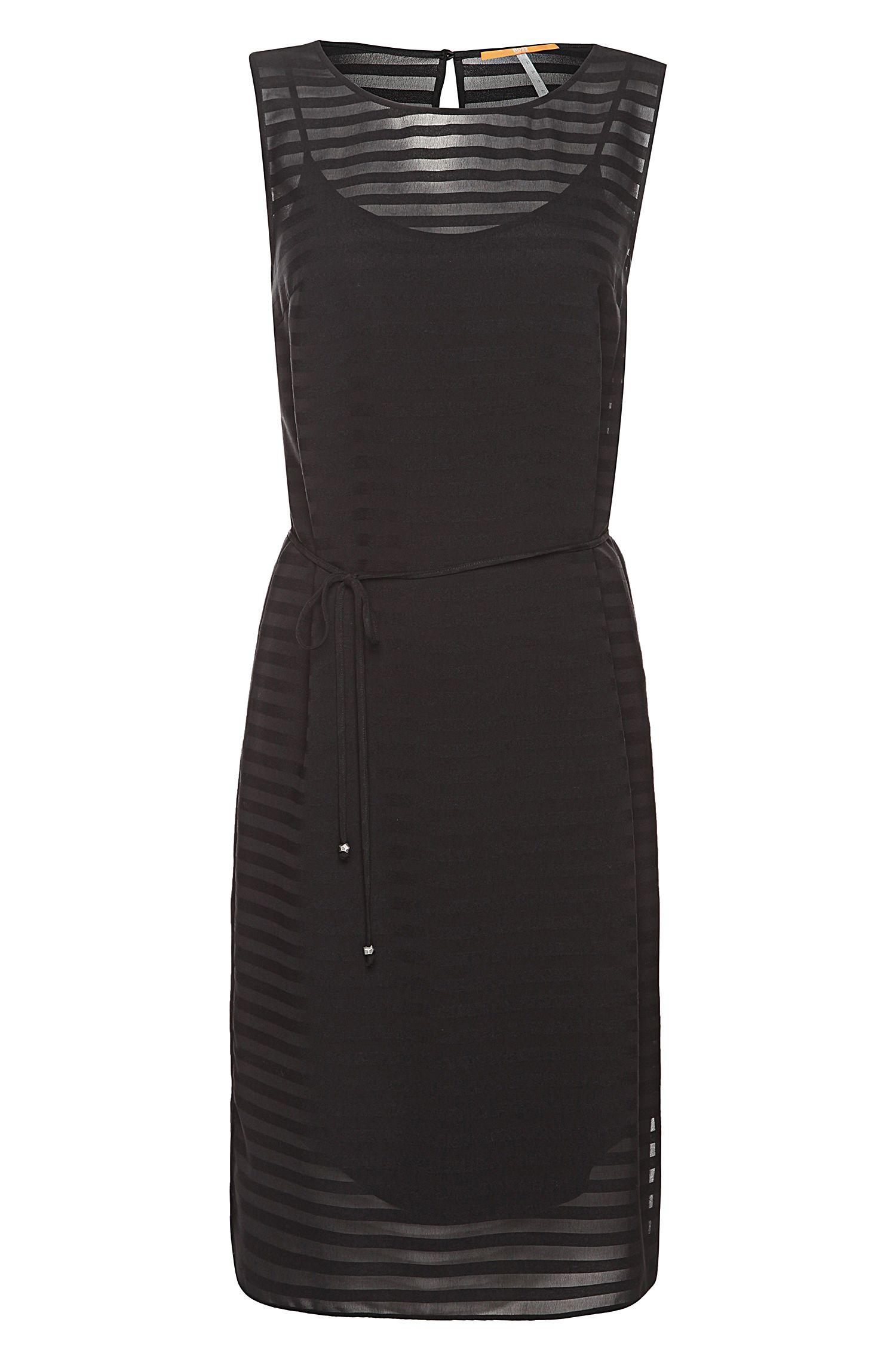 Ärmelloses Kleid aus Viskose-Mix: ´Arigette`