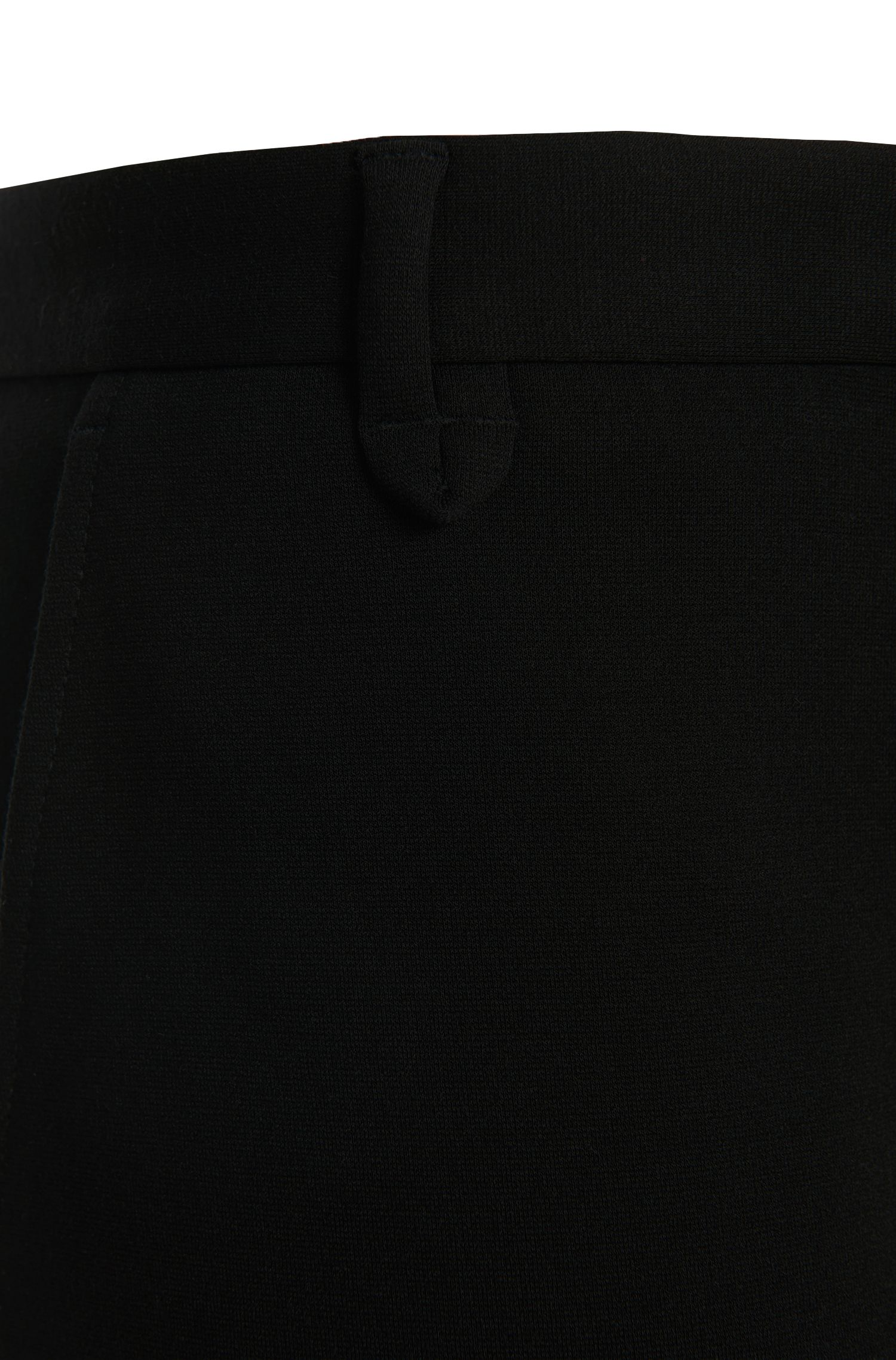 Extra Slim-Fit Hose aus Viskose-Mix: 'Heldor1'