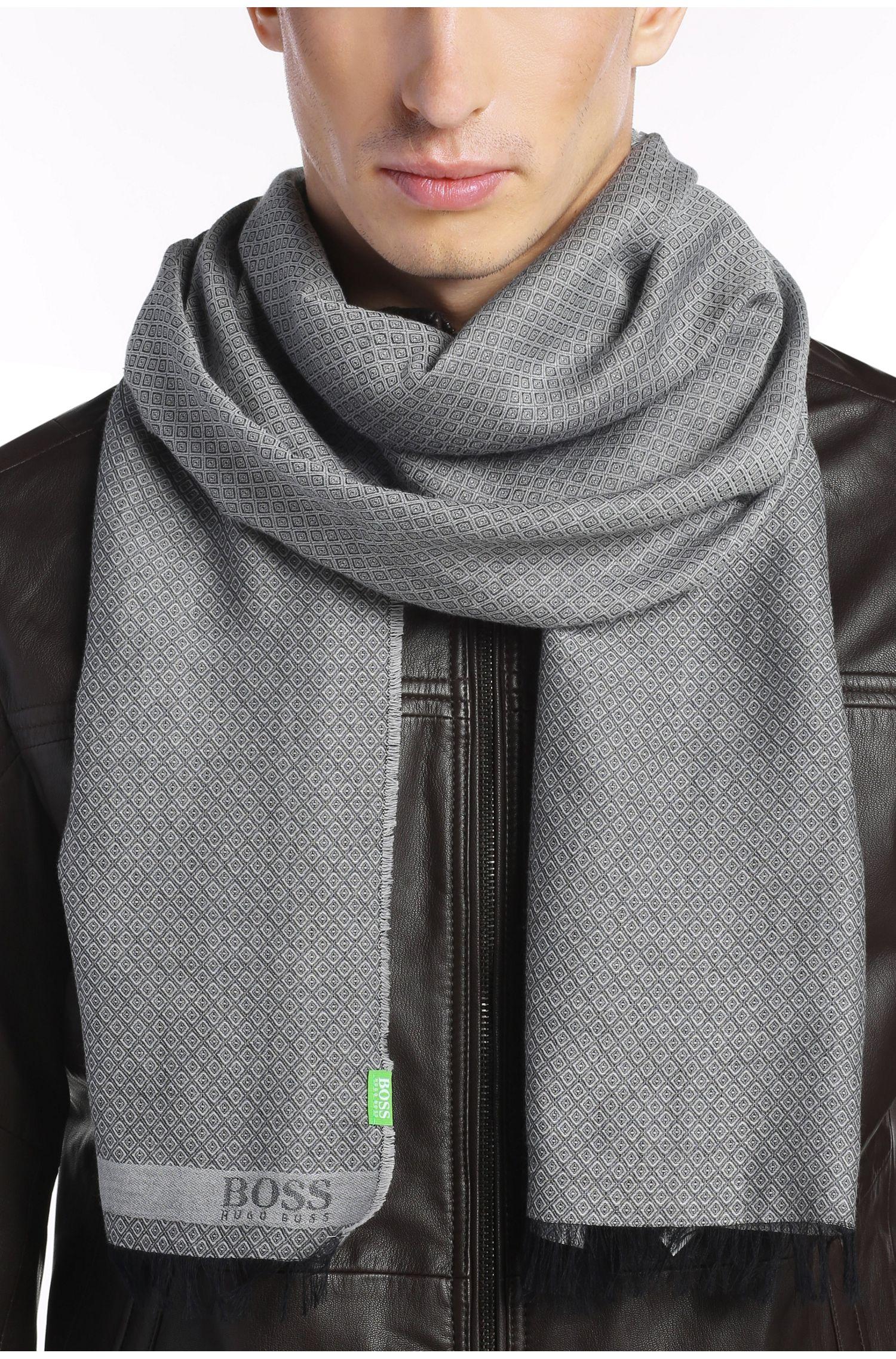 Schal aus Baumwolle und Modal: ´C-Fanton`