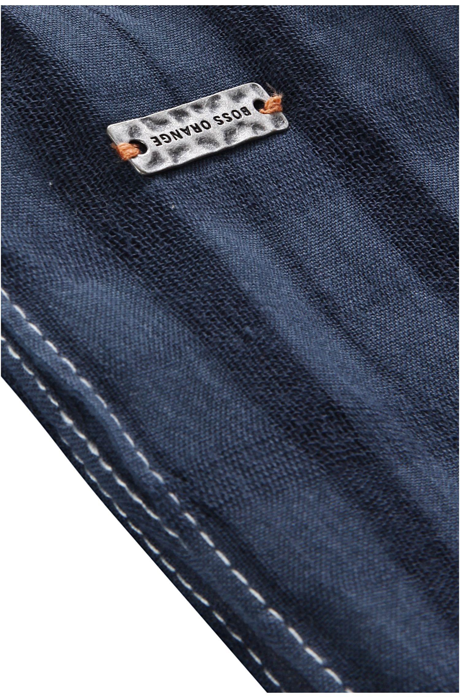 Écharpe en coton imprimé: «Nastripy»