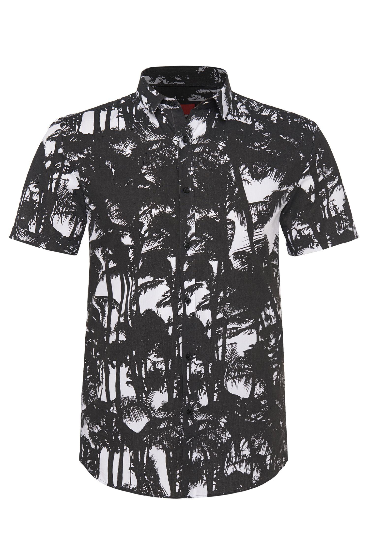 Slim-Fit Hemd aus Baumwolle: 'Empson'