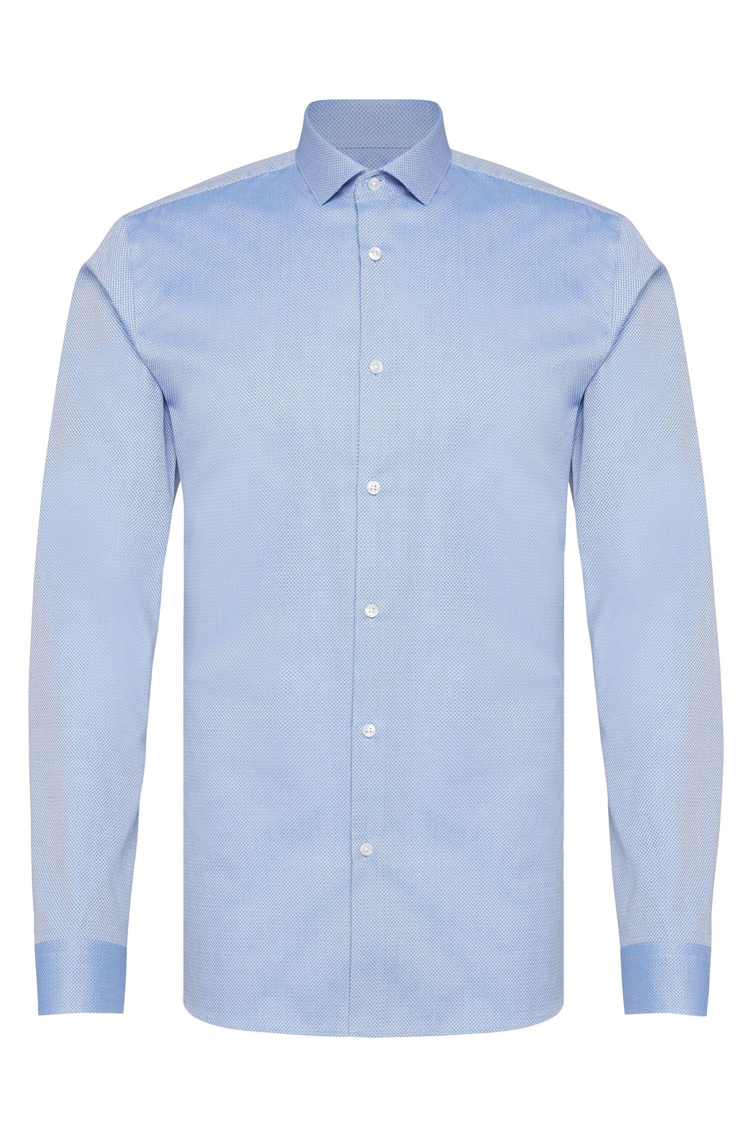 Slim-fit overhemd van katoen: 'Erondo'