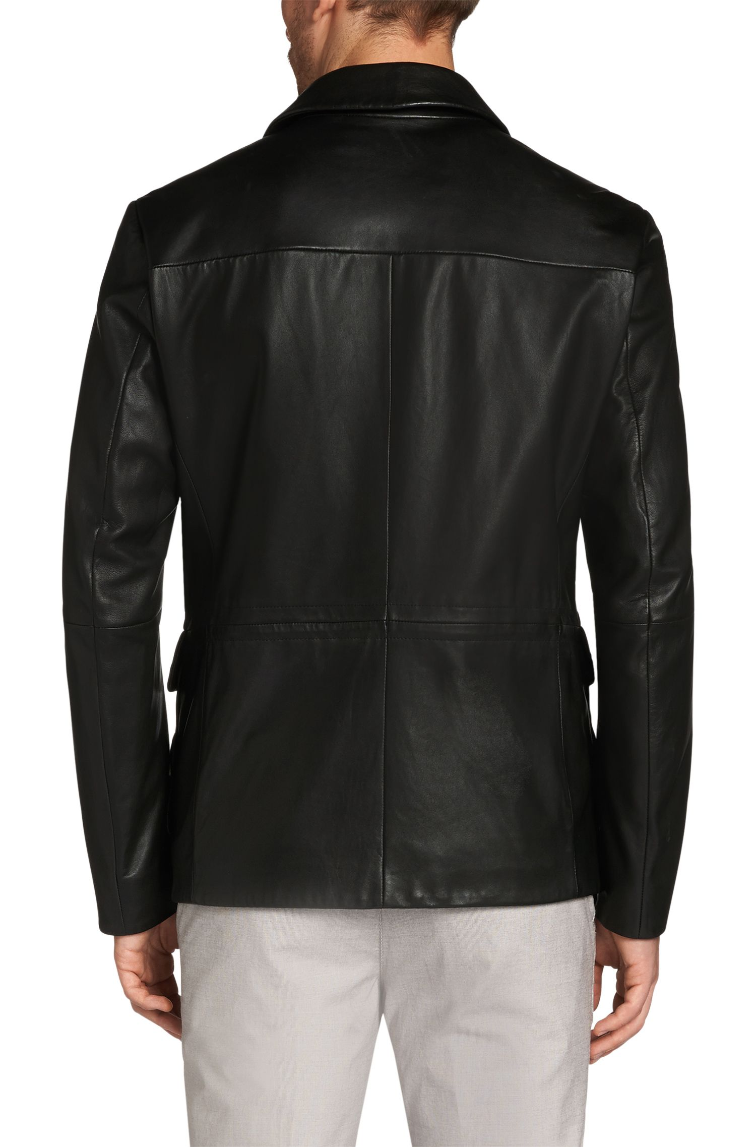 Regular-Fit Lederjacke: 'Girton'