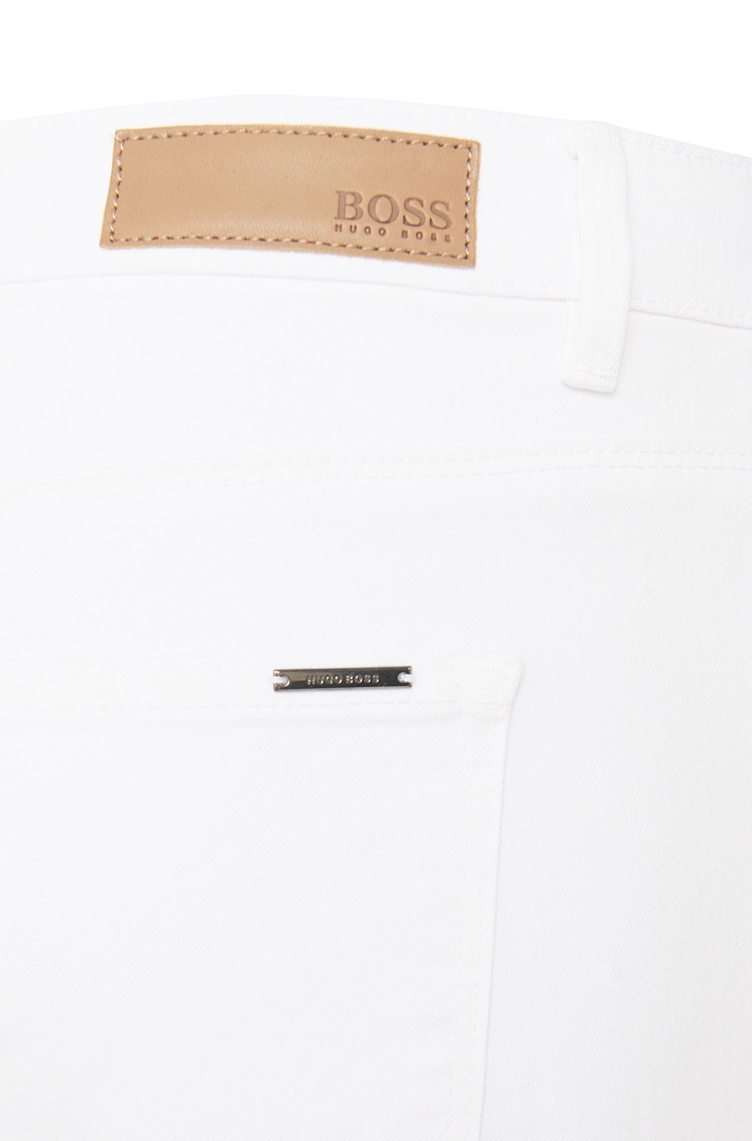 Jeans Flared Fit en coton stretch : « Nujin »