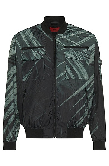 Patterned transitional jacket: 'Beltox', Patterned