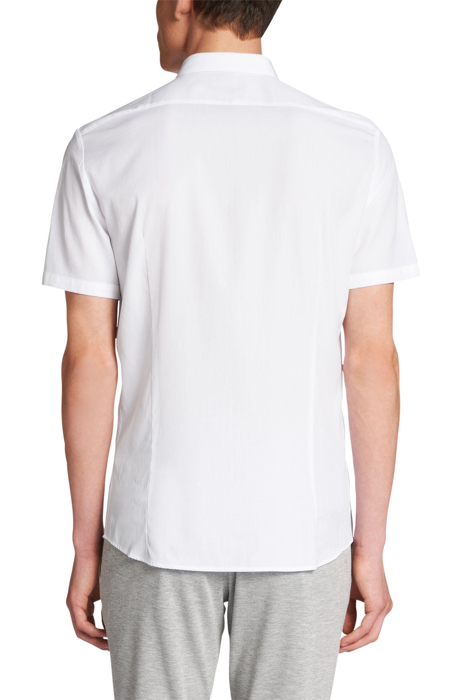 Slim-Fit Hemd aus Baumwolle: 'Elpasolo'