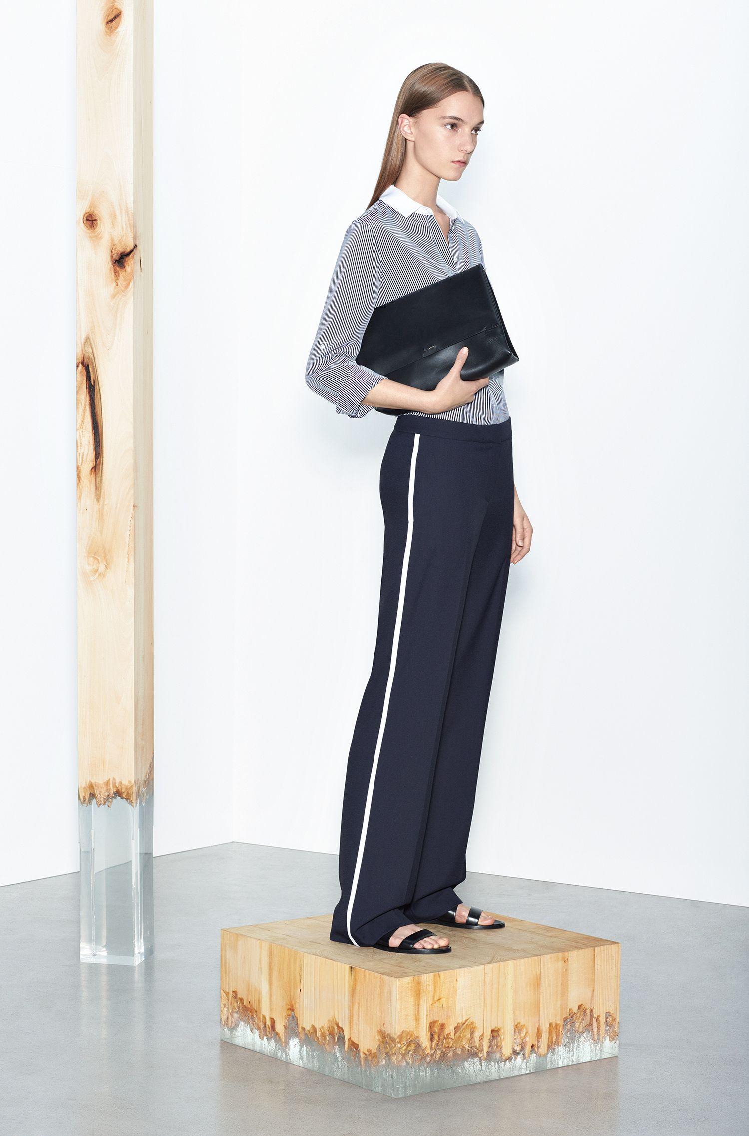 Hose mit seitlichen Kontraststreifen: 'Aminalia'