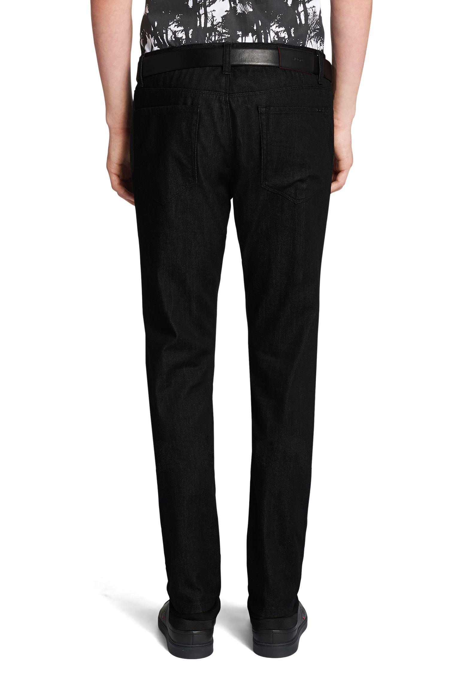 Extra Slim-Fit Jeans aus Stretch-Baumwolle: 'HUGO 734'