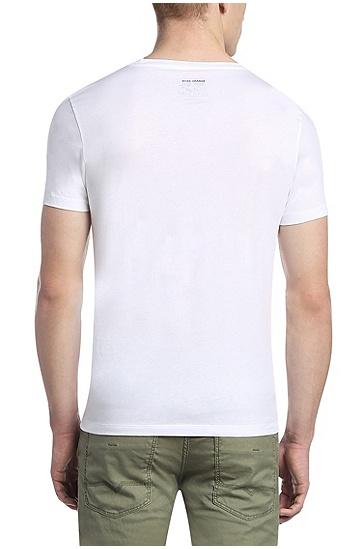 T-Shirt aus Single Jersey: ´Tomsin 2`, Weiß