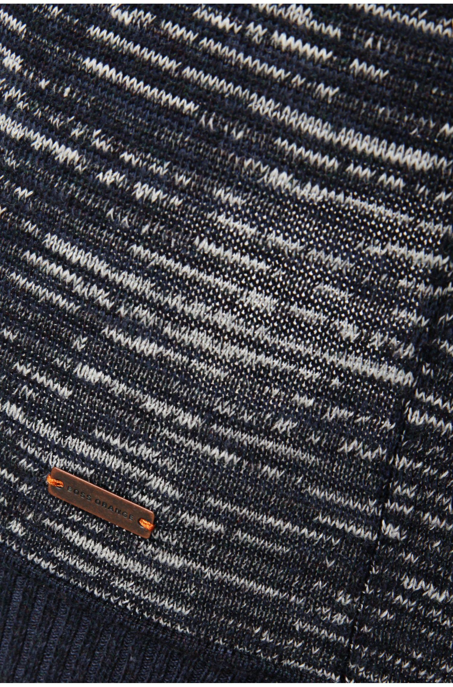 Pullover aus Baumwoll-Mix mit Leinen-Anteil: ´Alotuz`