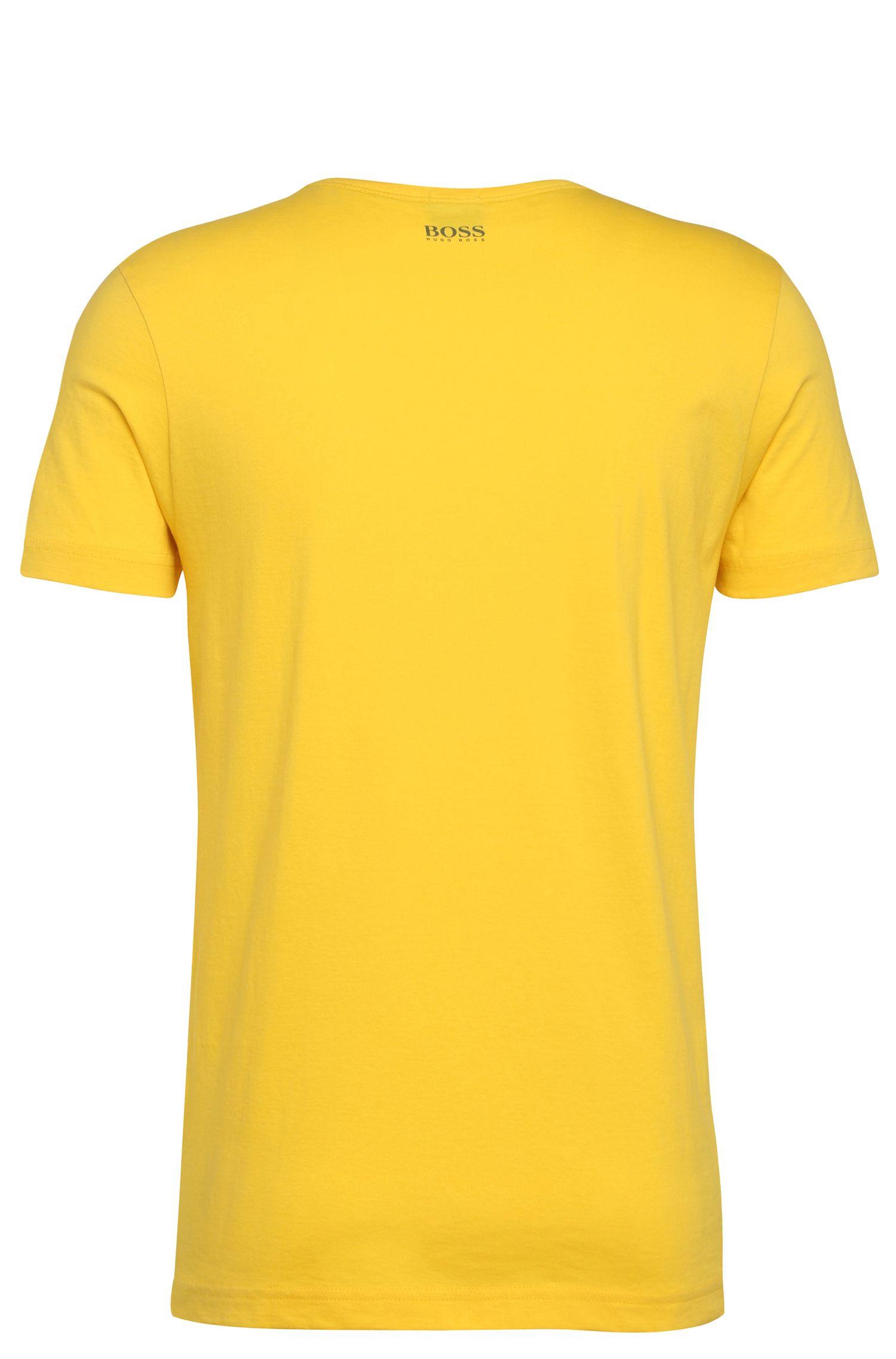 Baumwoll-T-Shirt mit Frontprint: ´Tee 3`