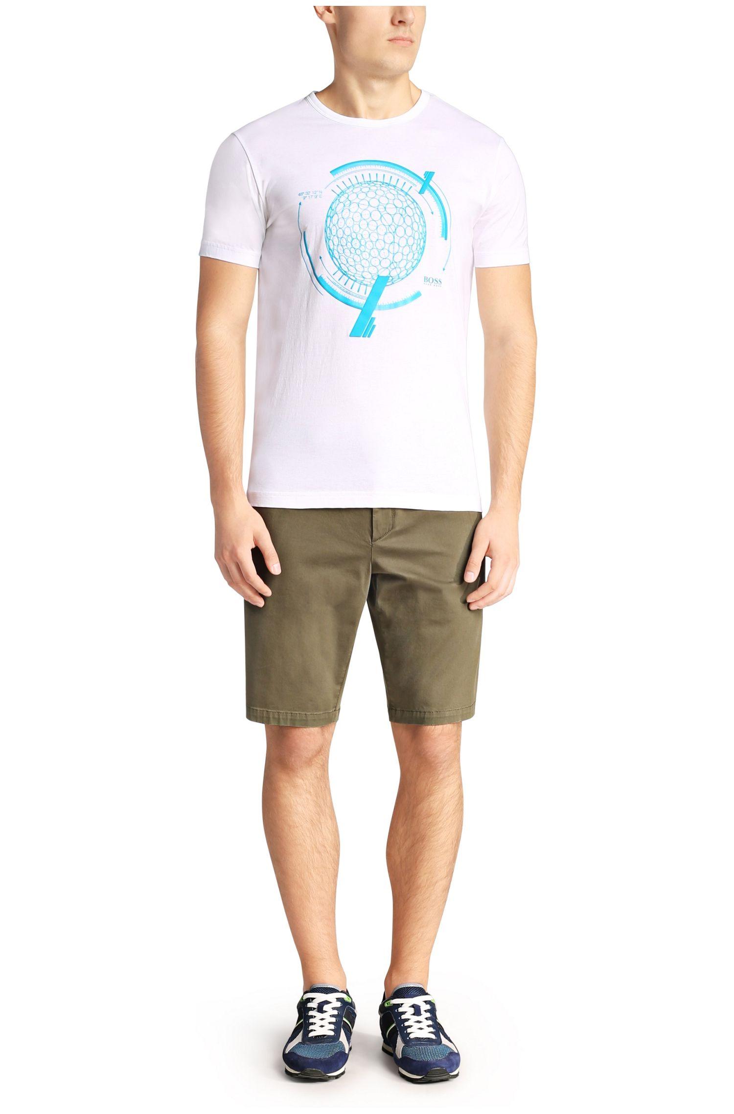 T-Shirt mit Rundhals-Ausschnitt: ´Tee 12`