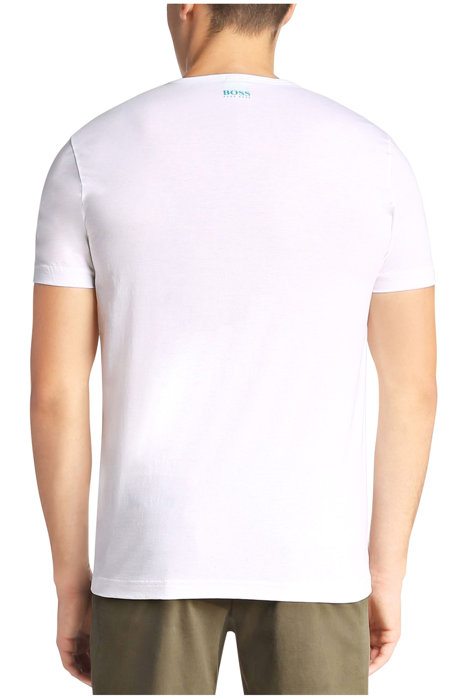 T-shirt met ronde hals: 'Tee 12'