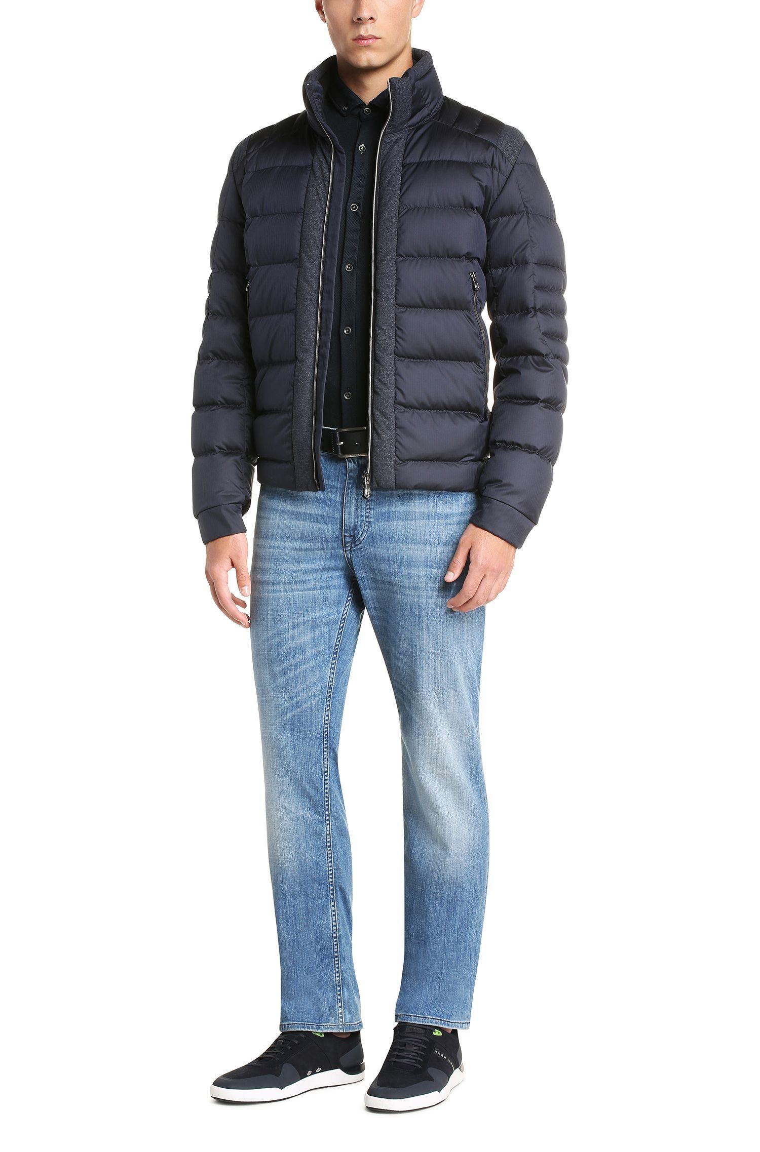 Regular-Fit Jeans aus elastischer Baumwolle: ´C-B4`