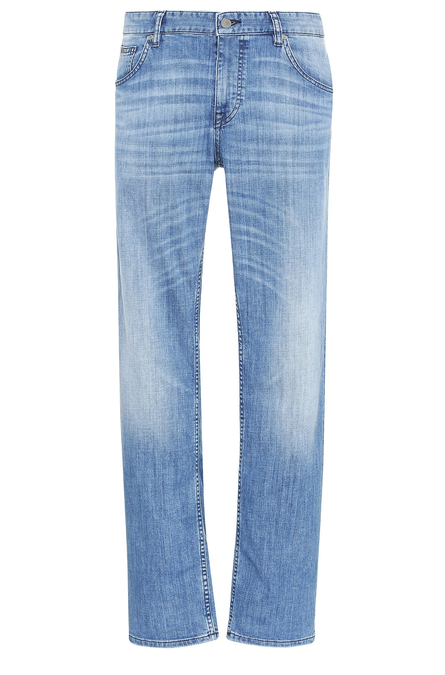 Regular-fit jeans in stretch cotton: 'C-B4'