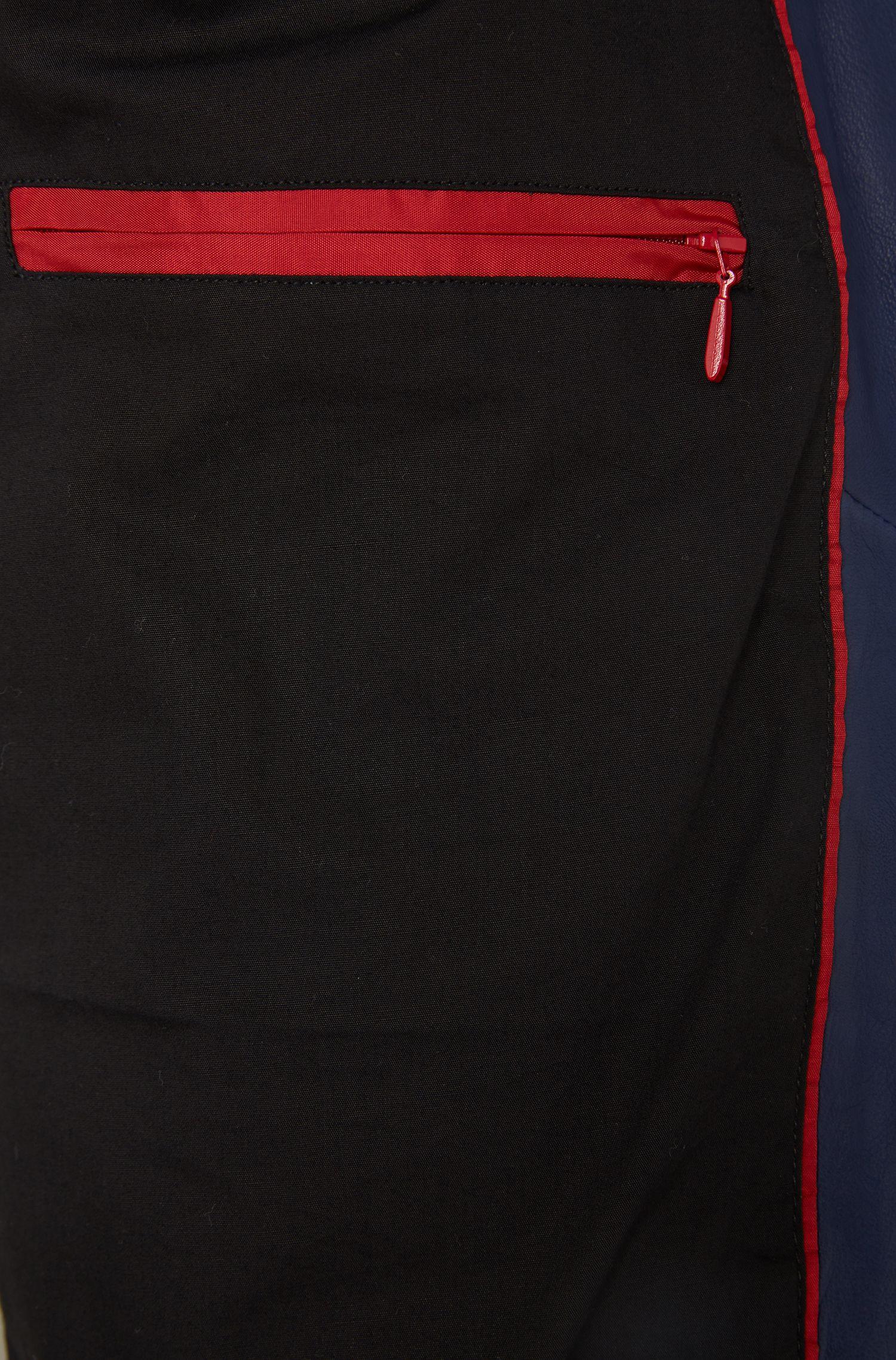 Slim-Fit Pilotenjacke aus Leder: 'Lerko'