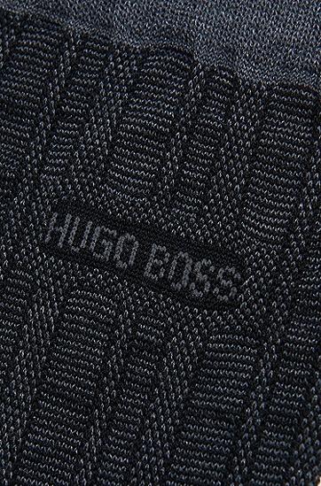 Socken aus Baumwoll-Mix: 'George Design', Schwarz