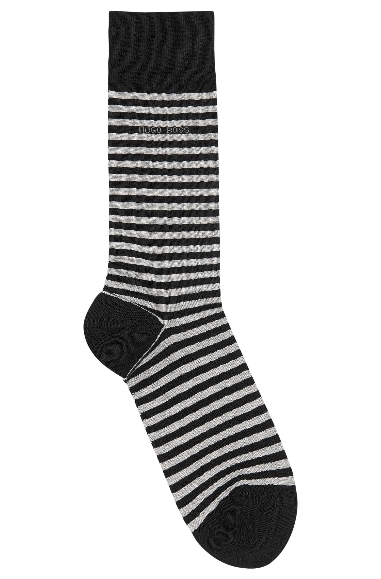 Chaussettes en coton stretch : « Marc Design »