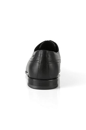 Schnürschuhe aus Leder: 'C-Drerom', Schwarz