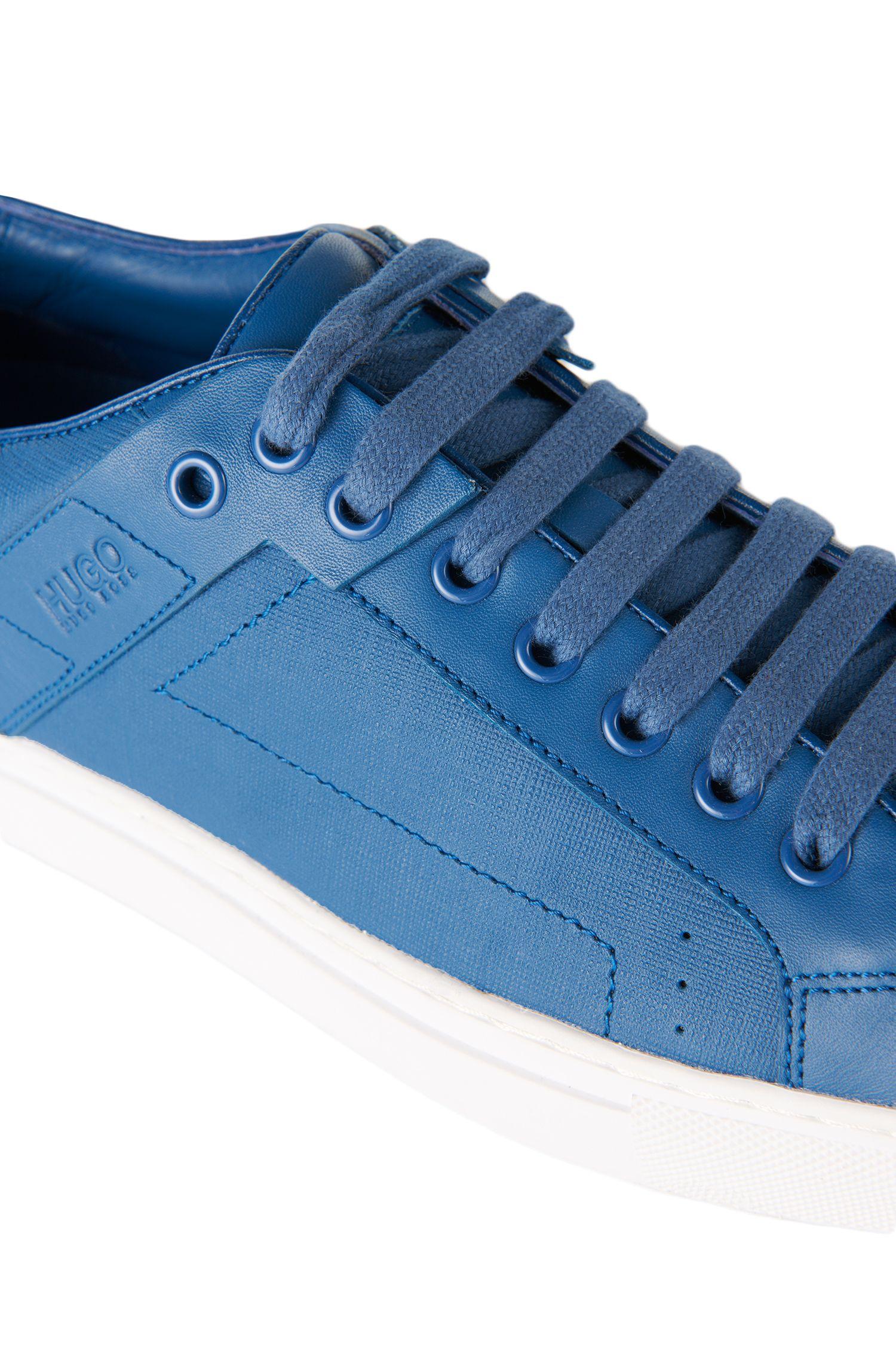 Sneakers aus Leder mit strukturierten Partien: 'Futesio-SF'