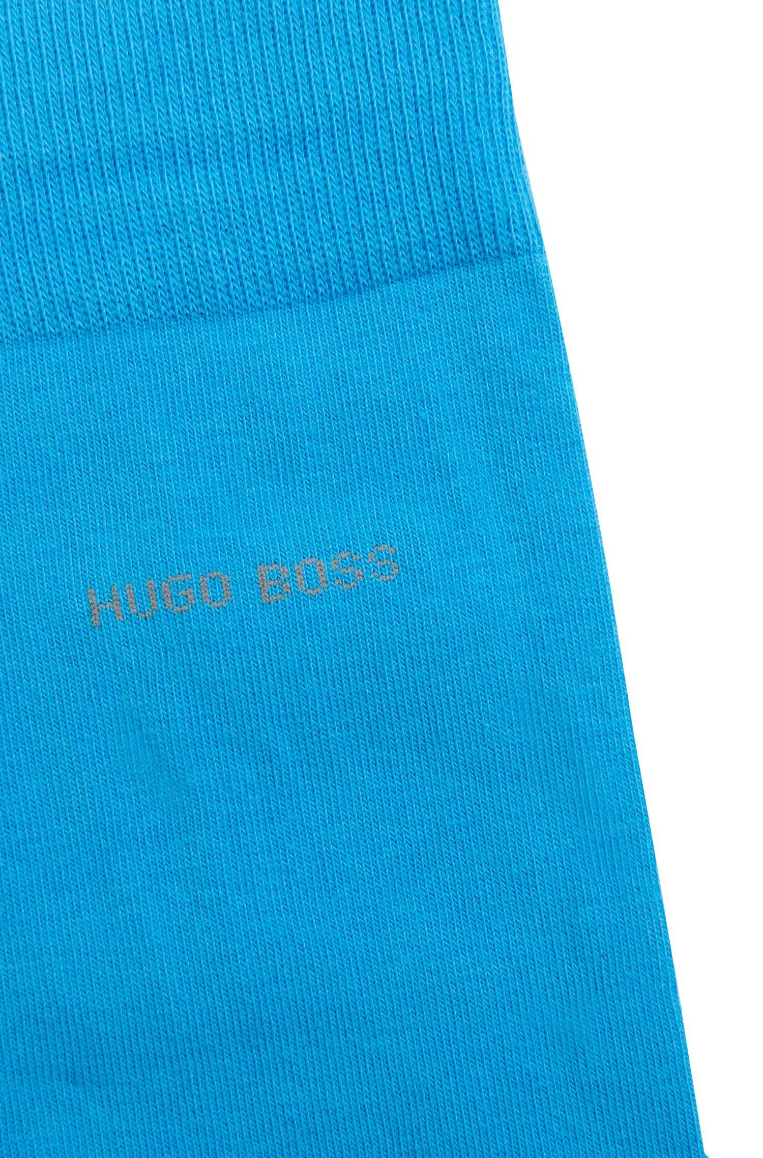 Unifarbene Socken aus Stretch-Baumwolle: 'Marc Colours'
