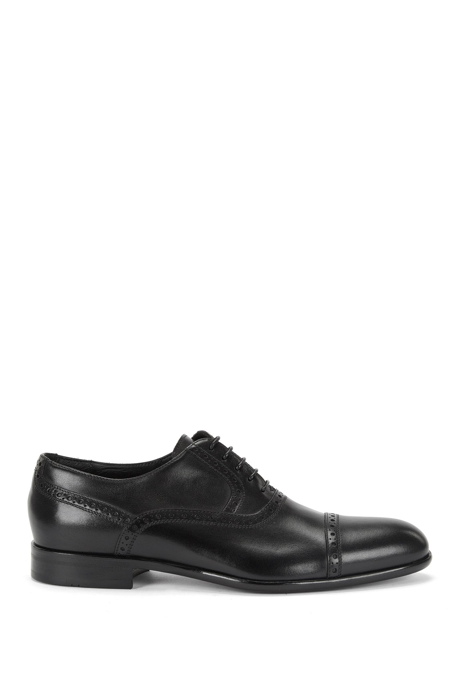 Lace-up leather brogues: 'Mannis'