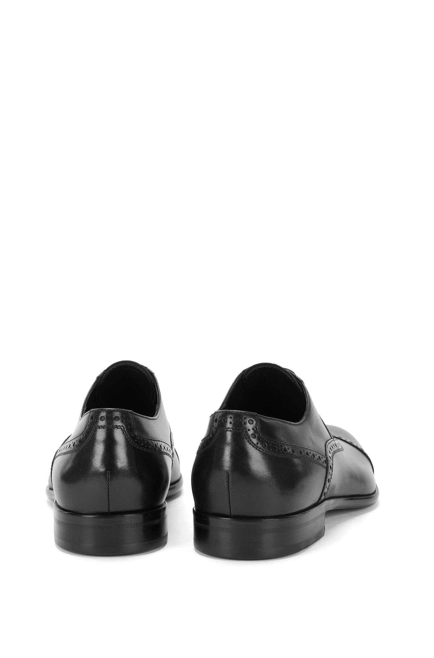 Schnürschuhe aus Leder im Budapester-Stil: 'Mannis'