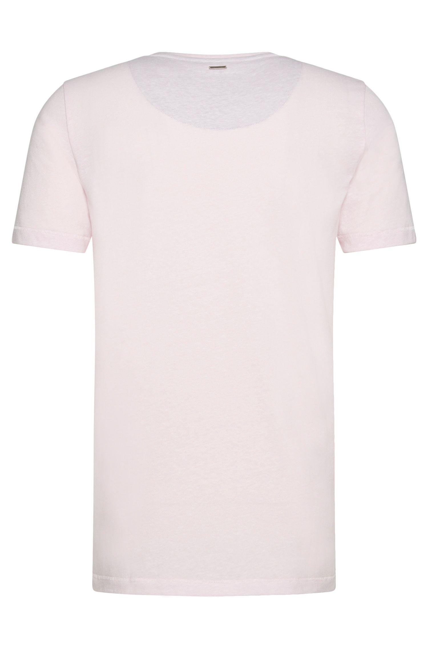 T-shirt Regular Fit en matières mélangées à du coton et de la viscose: «Daustin»