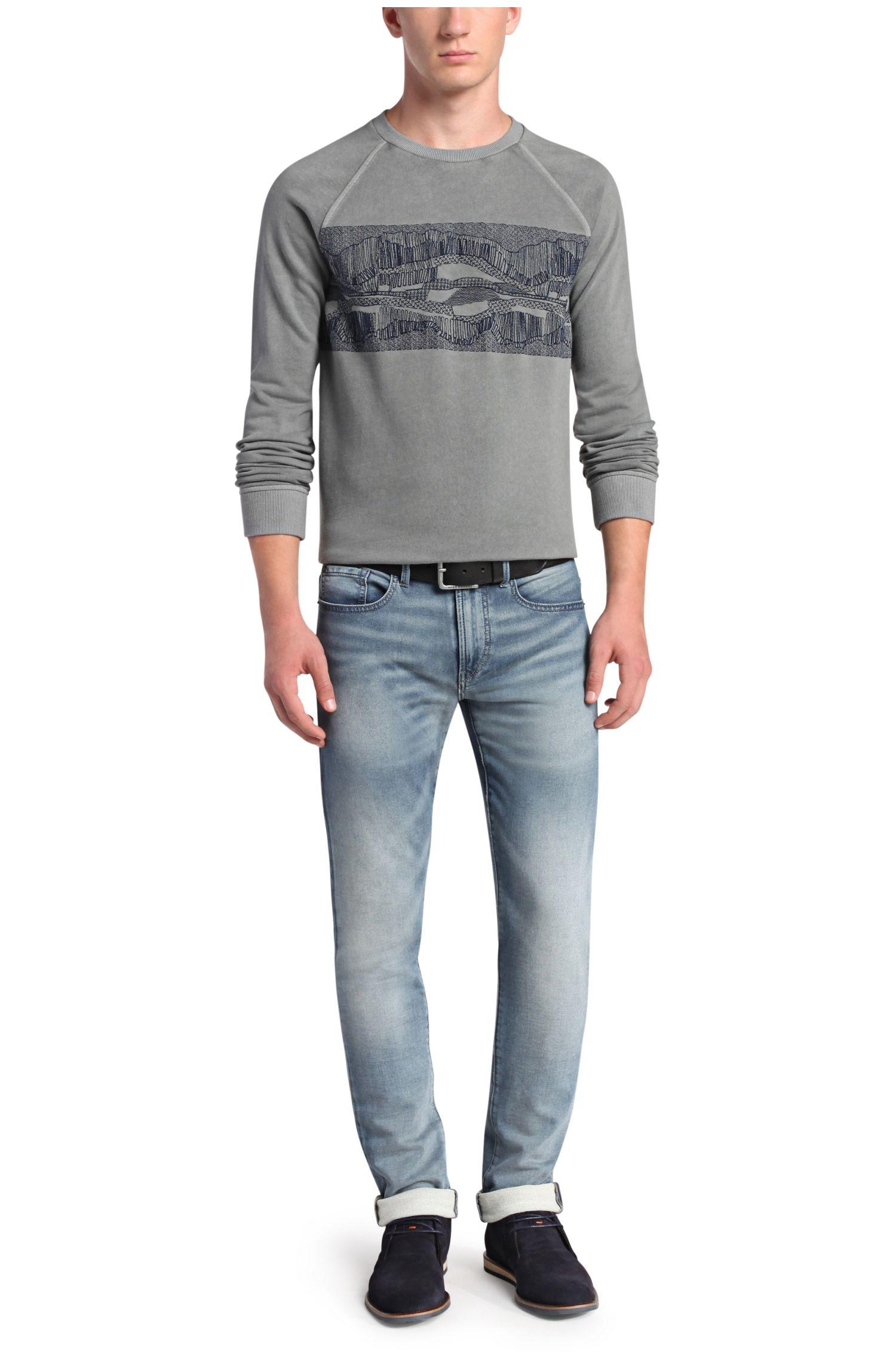 Slim-Fit Jeans mit Waschung: ´Orange72`