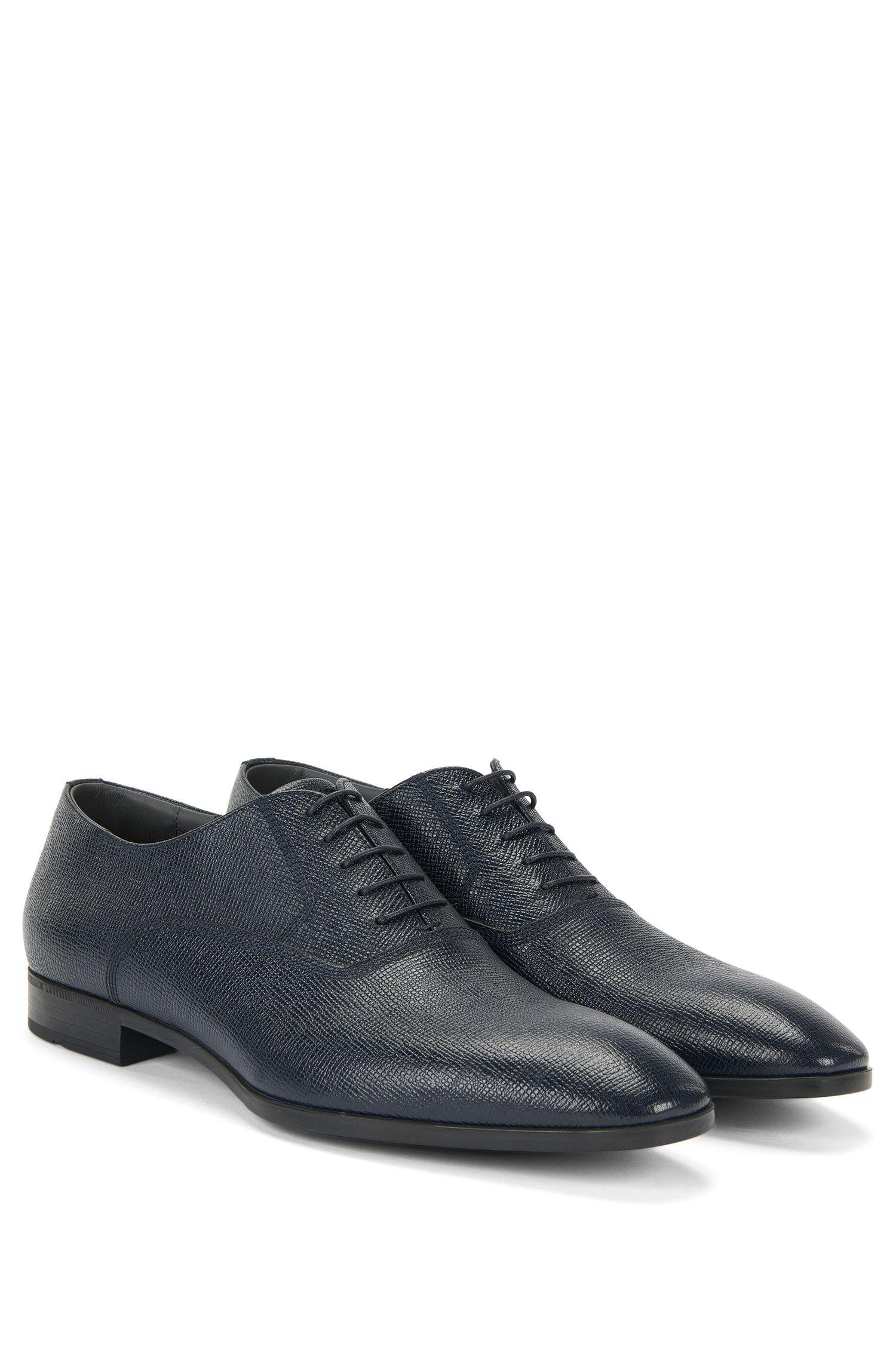 Geprägte Schnürschuhe aus Leder: 'Uniol'