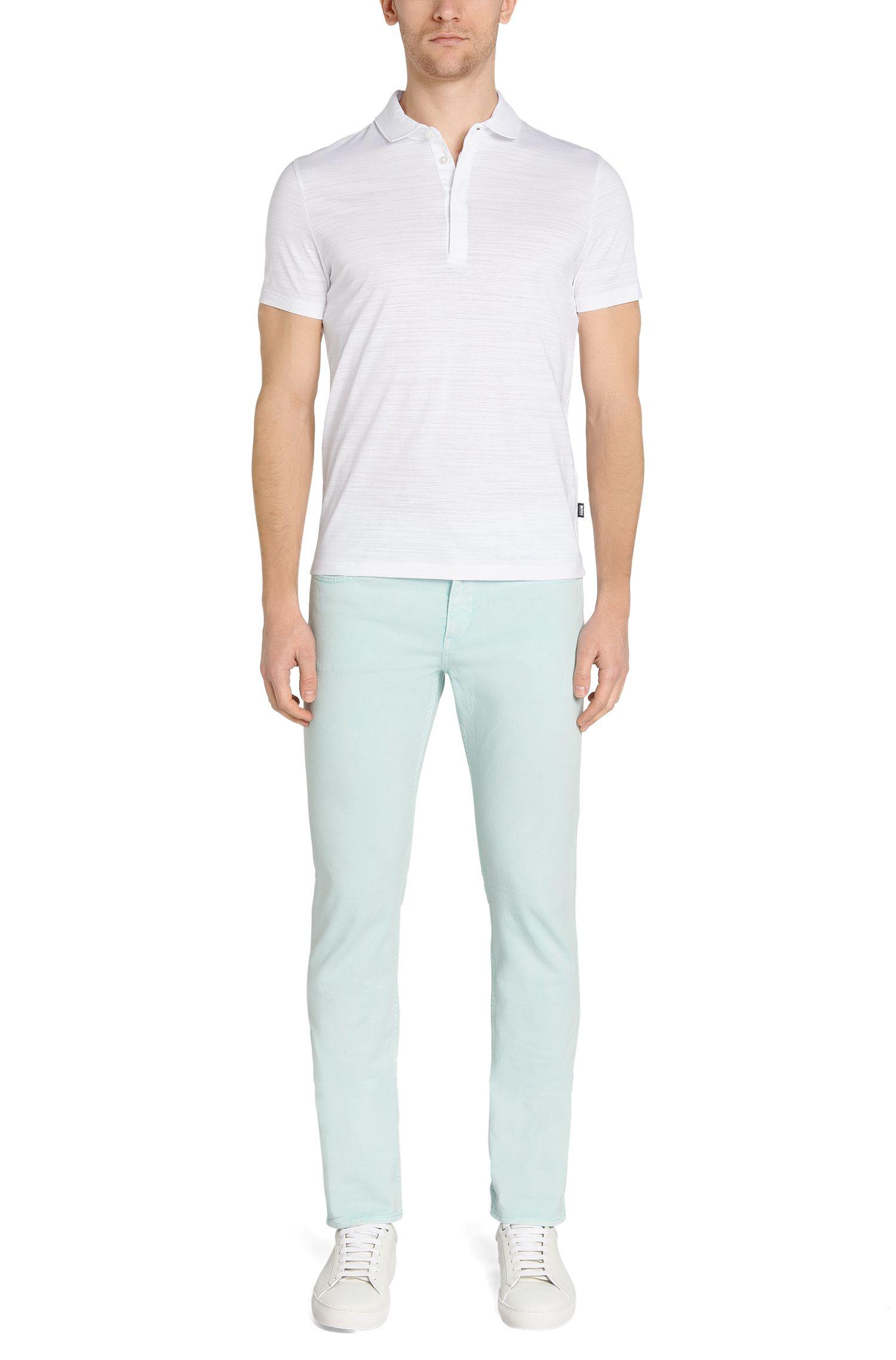 Regular-Fit Poloshirt aus Baumwolle: 'Pressler 50'