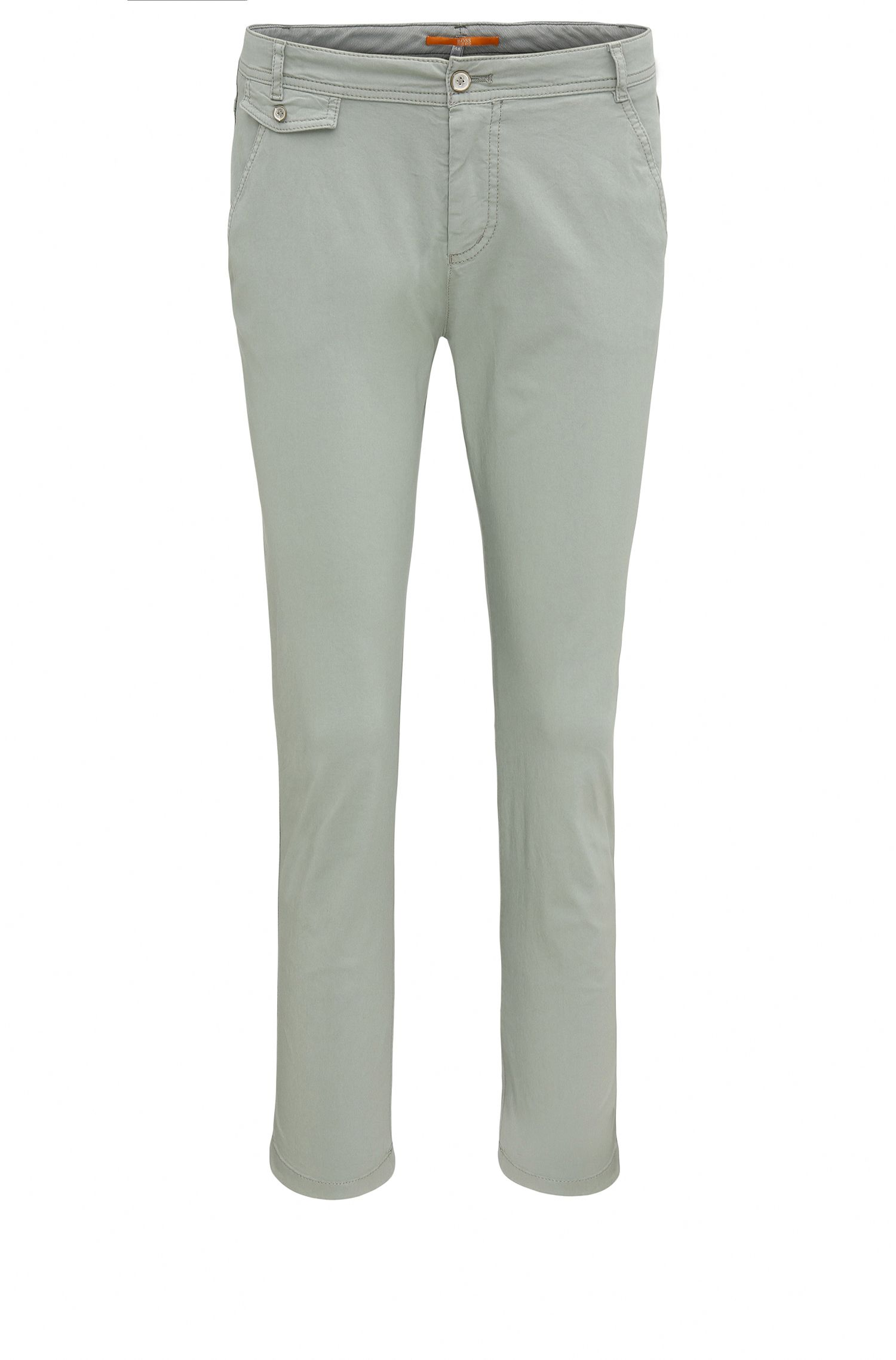 Relaxed-fit chinos in stretch cotton: 'Sochini1-D'
