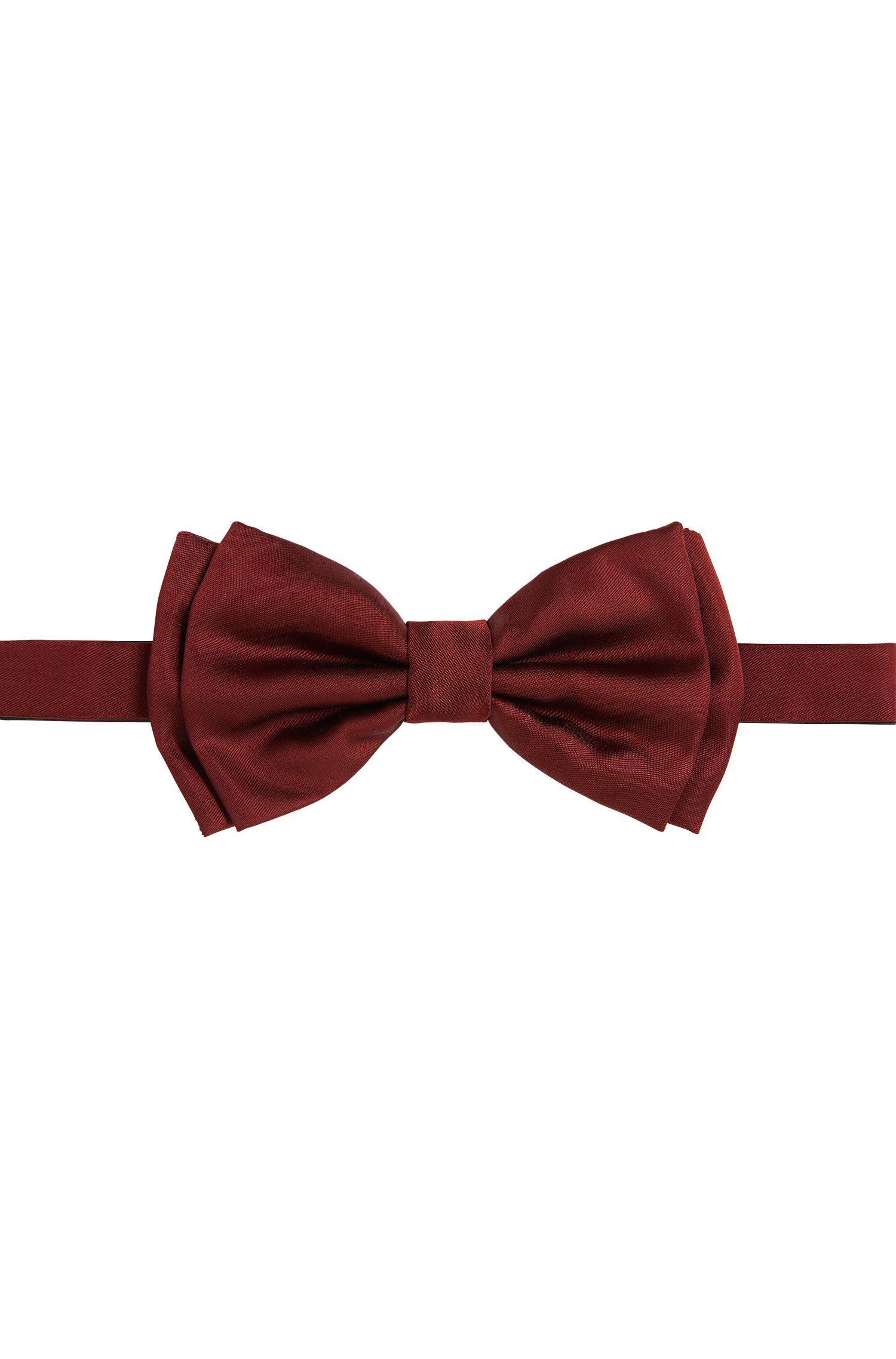 Set met vlinderdasje en cummerbund van zijde: 'Set bow tie + cummerbund'