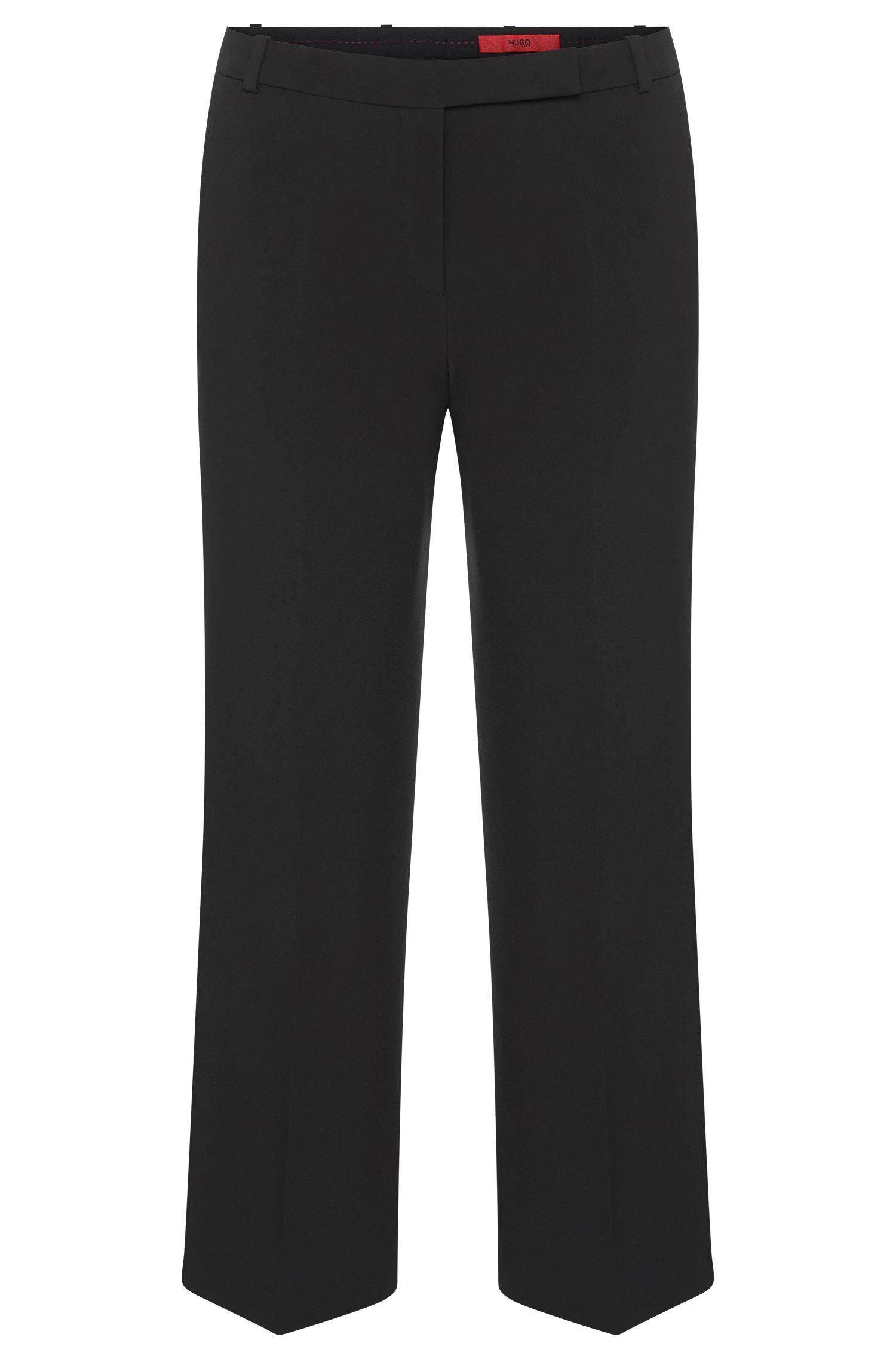 Pantalon en matières mélangées extensibles: «Hokena»