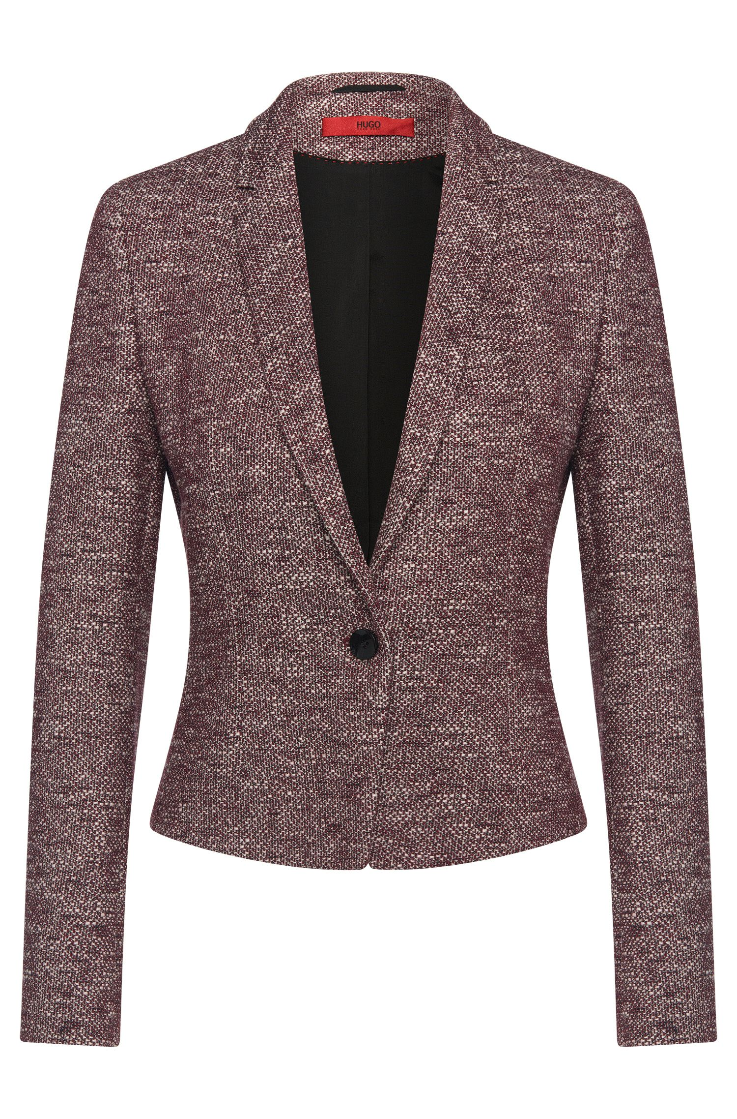 Regular-Fit Blazer aus Baumwoll-Mix: 'Adiasa'