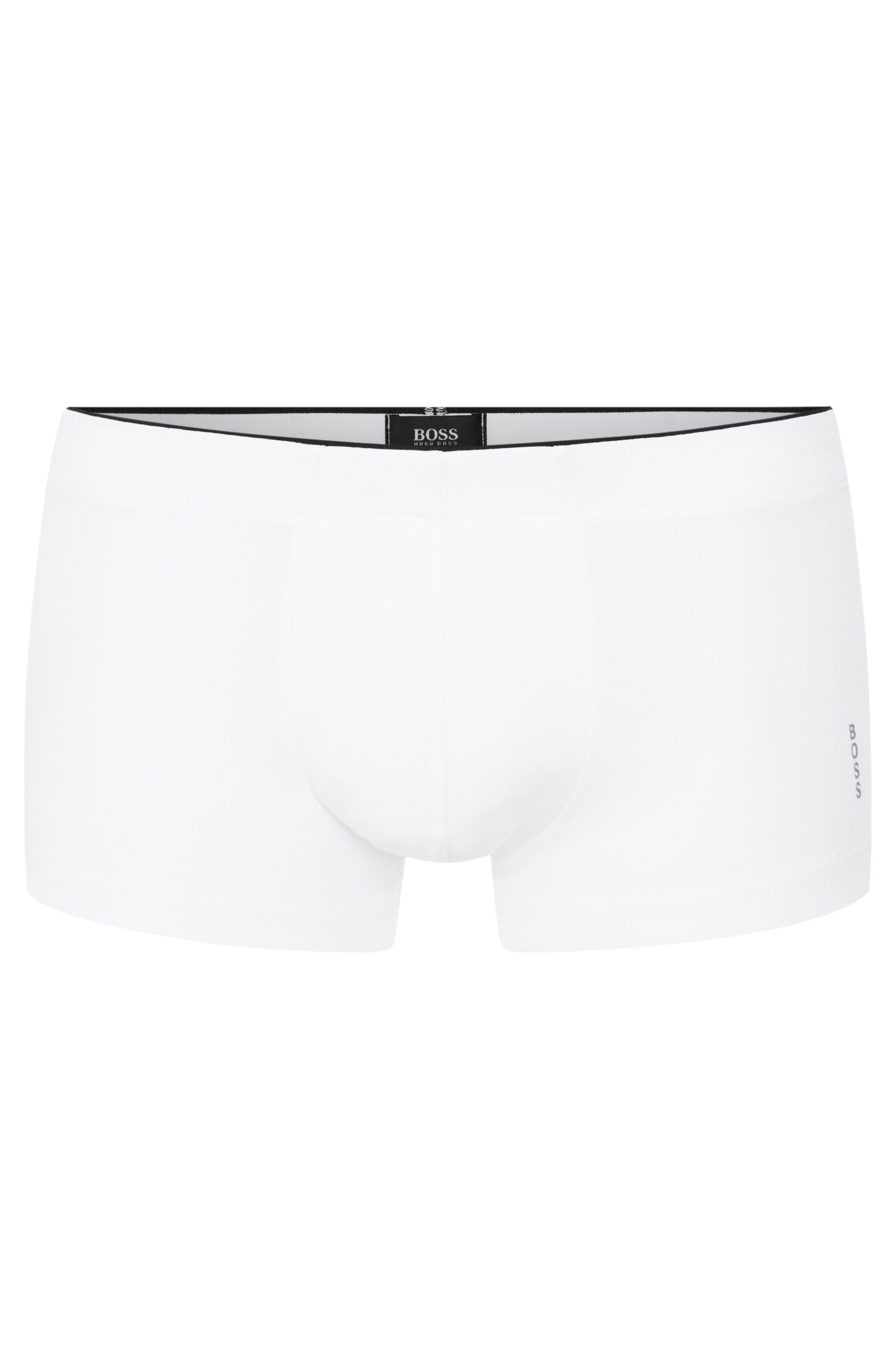Regular-rise boxer briefs in premium microfibre