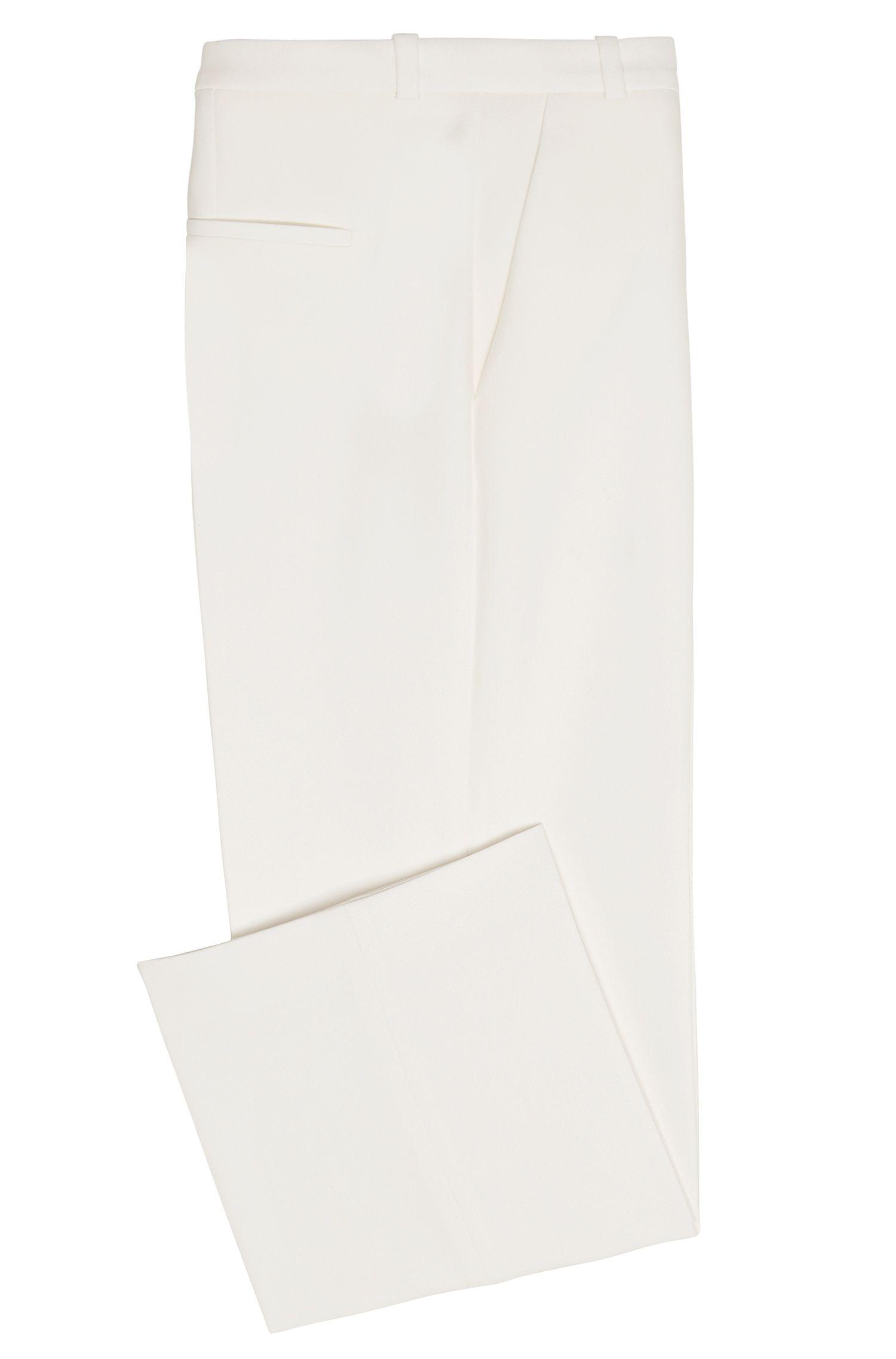 Regular-Fit Hose aus Material-Mix mit Baumwolle und Viskose: 'Hokena'