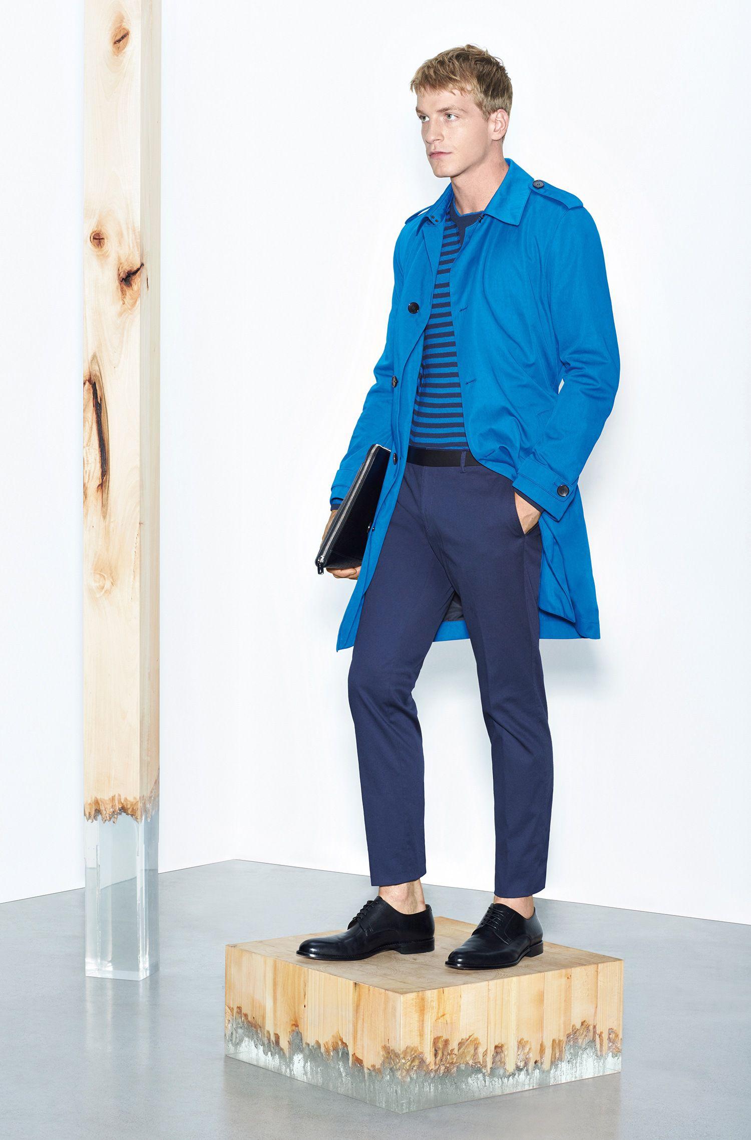 Pantalon Slim Fit en coton stretch: «Stanino13-W»