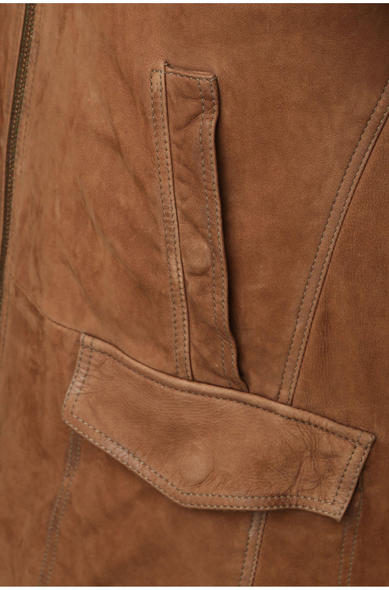 Blouson en cuir original, en cuir de vachette: «Jalos»