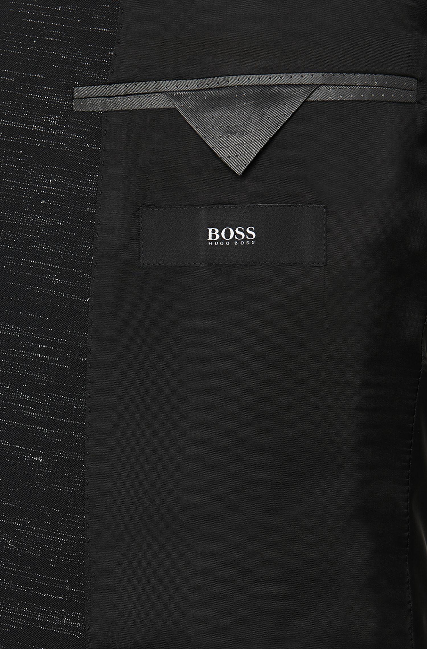 Costume Extra Slim Fit en laine vierge «Reyno1/Wave1»