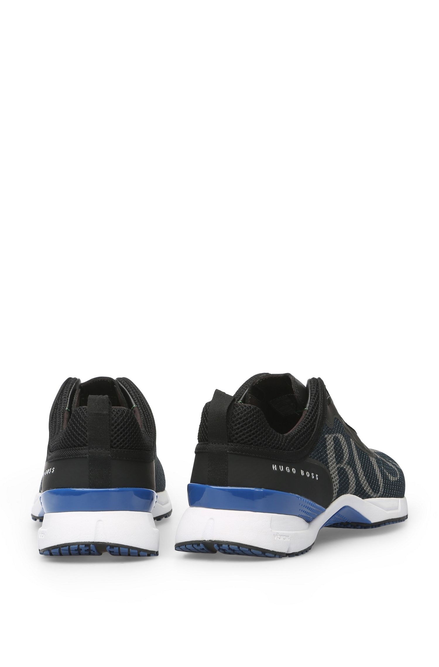 Sneakers aus Logo-Mesh: ´Velox`