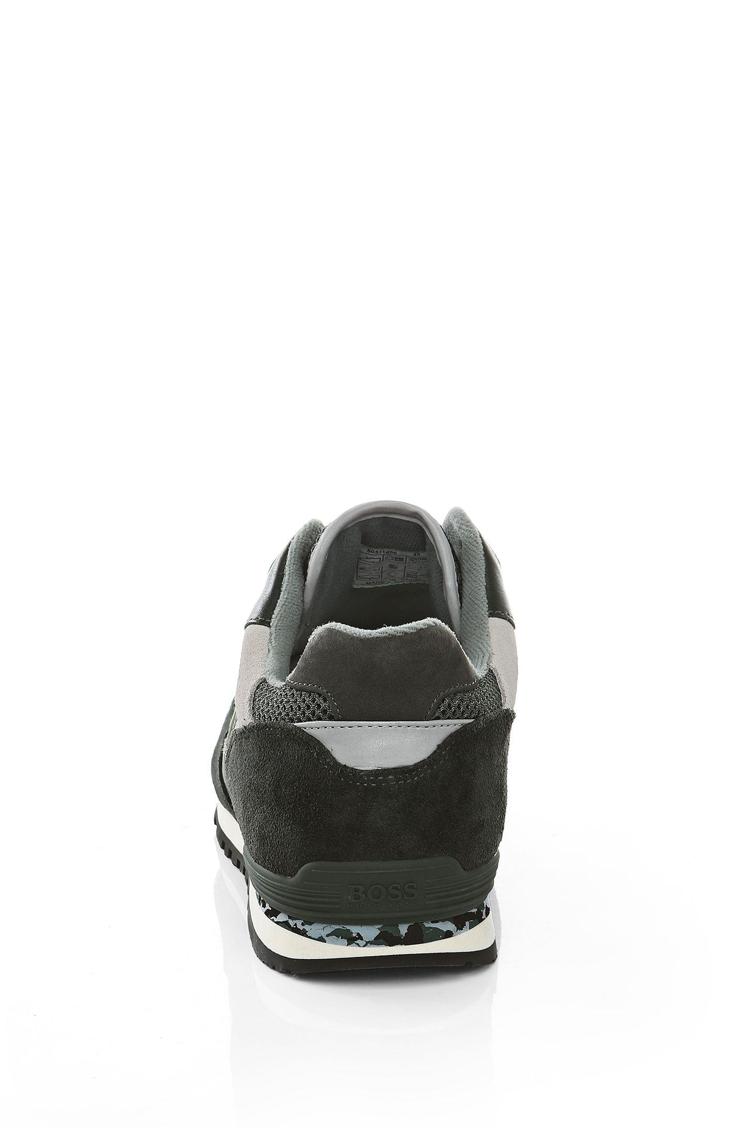 Baskets en matières mélangéesavec du cuir: «RuncoolCamo»