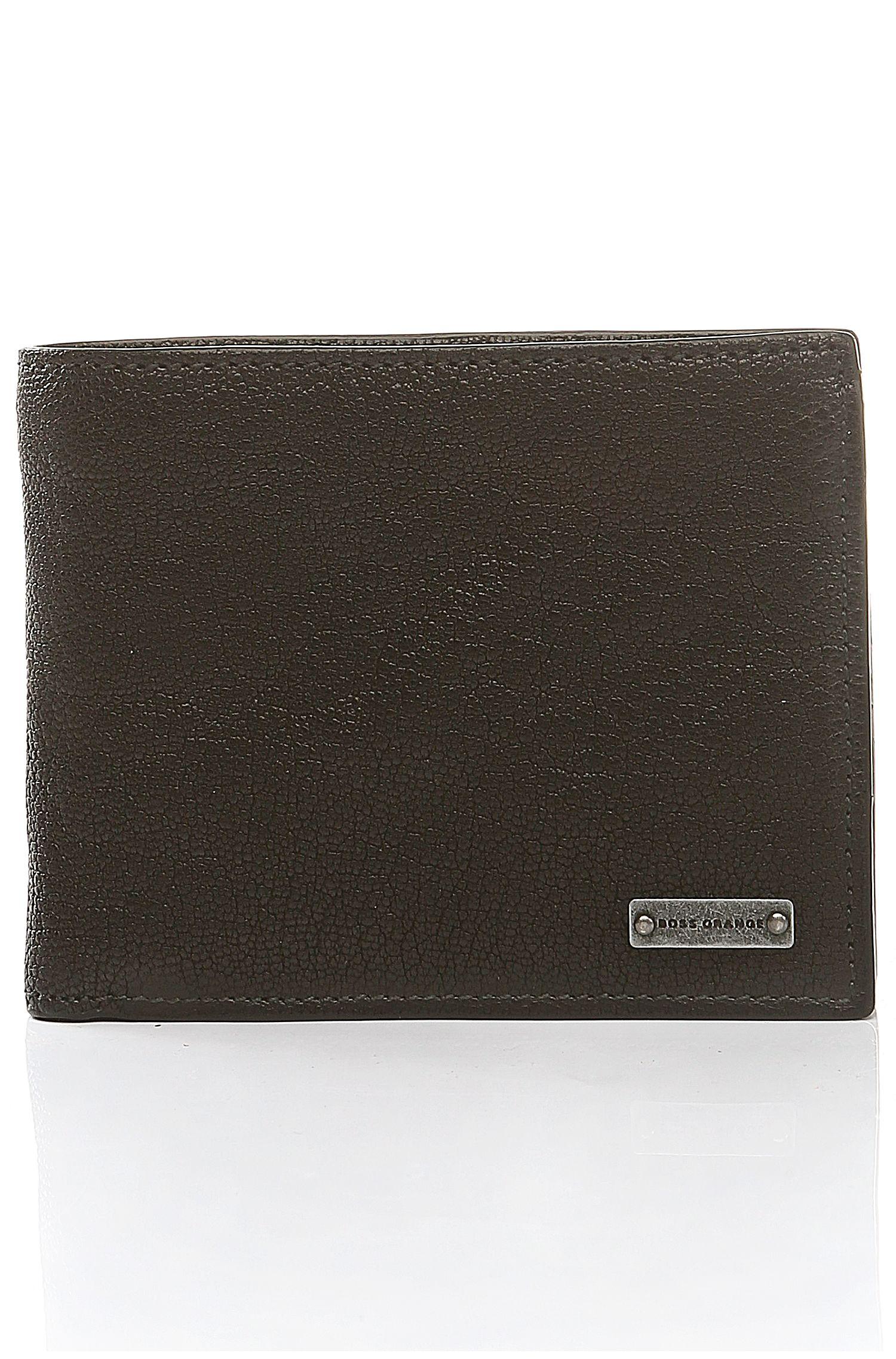 Portemonnaie aus genarbtem Leder: ´Volcano_4 cc coin`